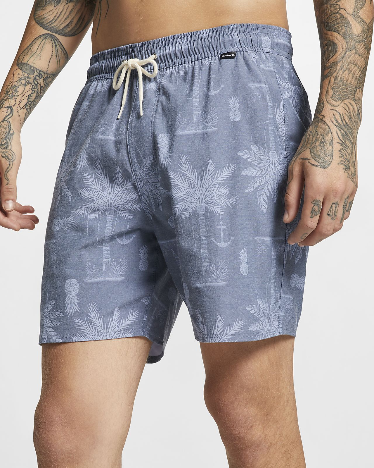 "Hurley Asylum Volley Men's 17"" Shorts"