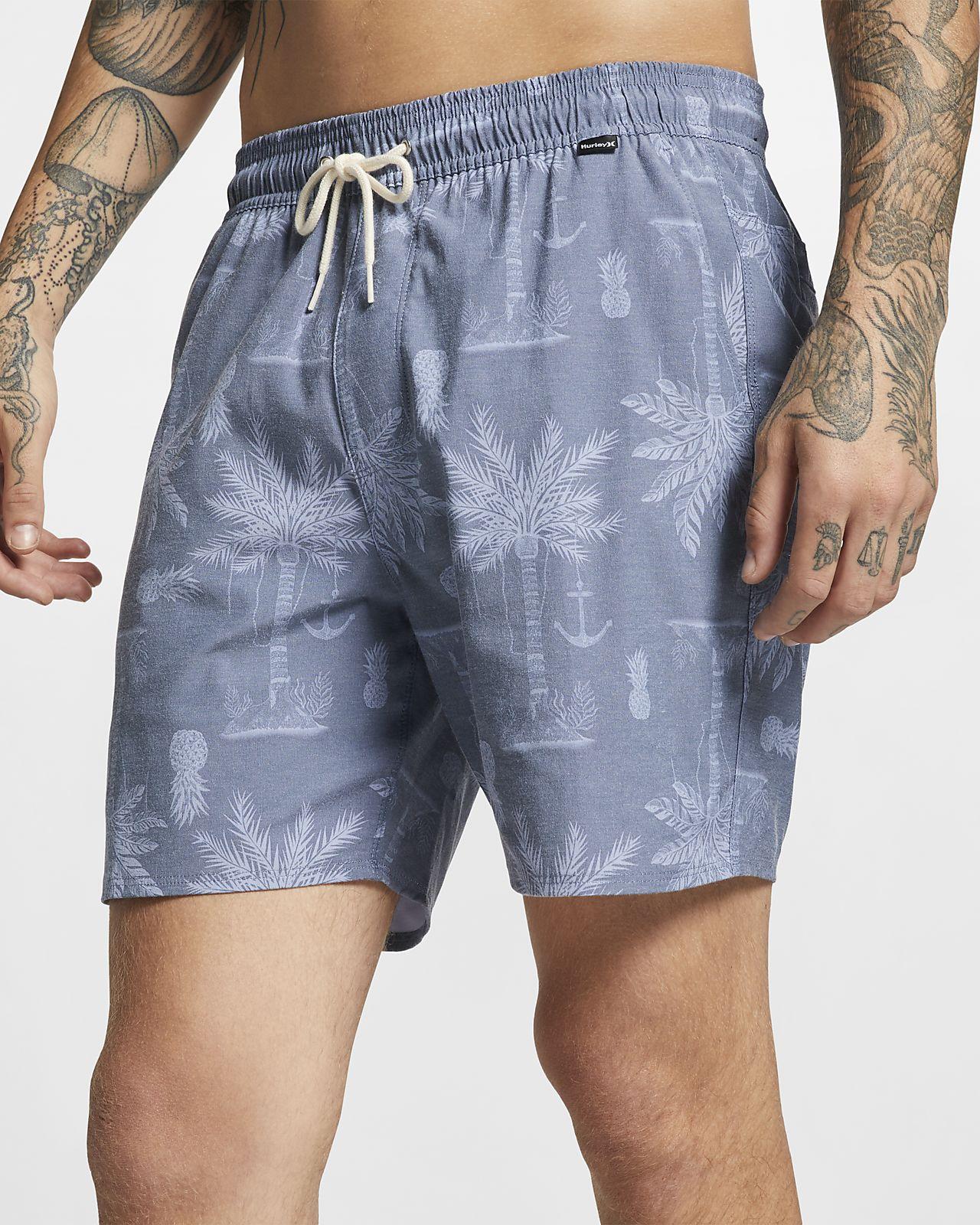 Hurley Asylum Volley Pantalón corto de 43 cm - Hombre