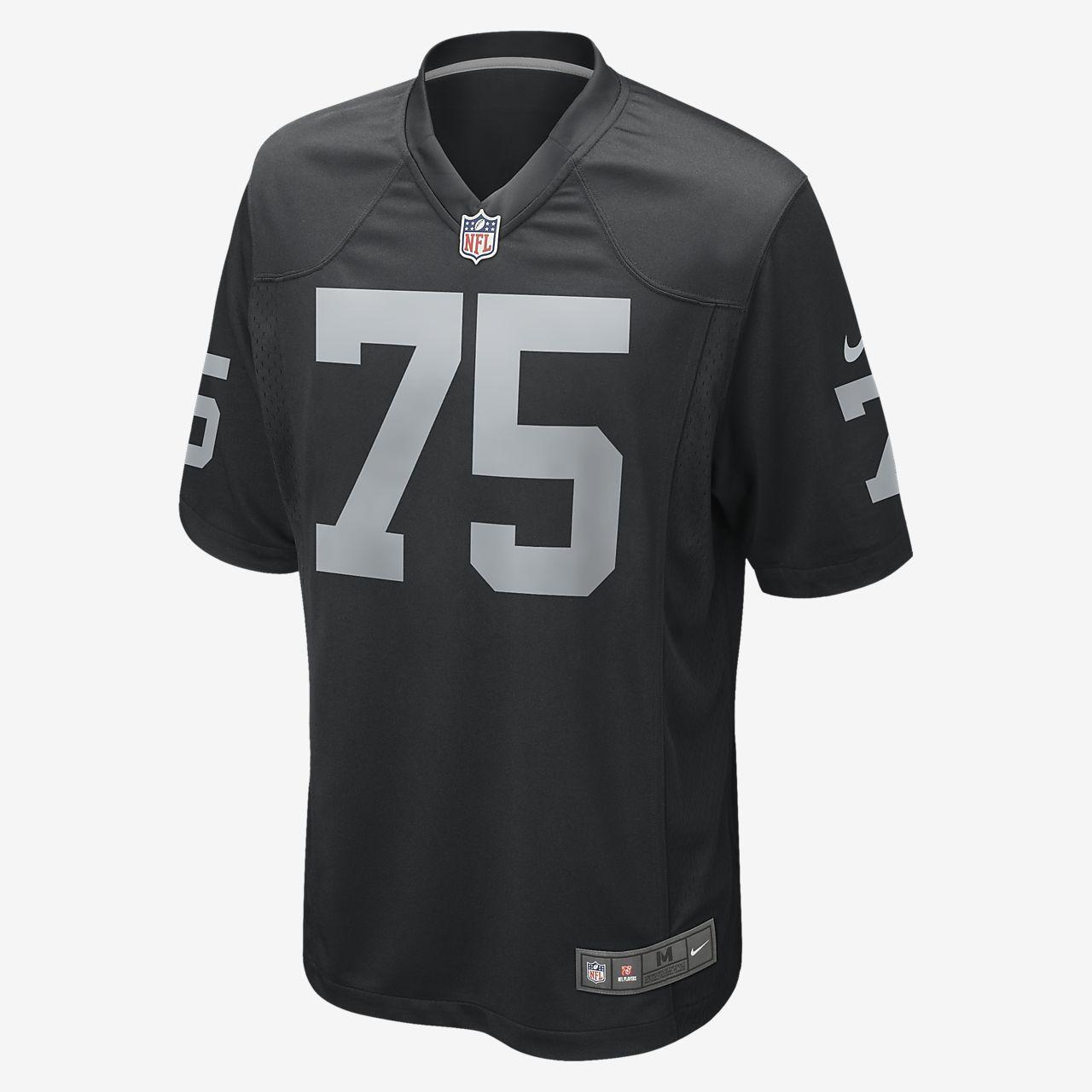 NFL Oakland Raiders Game Jersey (Khalil Mack) 468964-034 Black