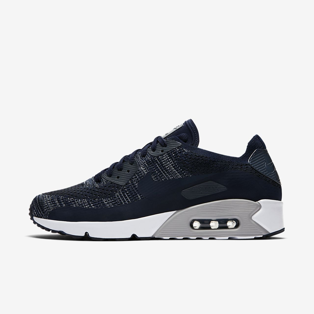 Nike Air Max 90 Ultra 2.0 Flyknit 'College Navy'. Nike SNKRS
