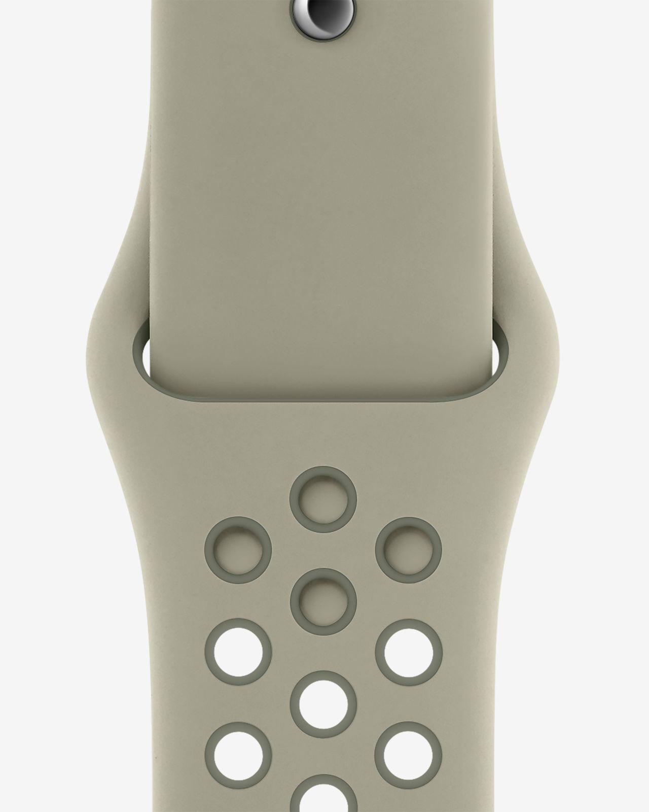 Apple Watch Nike 40 mm-es lucfenyőköd/vintage zuzmószín sportszíj