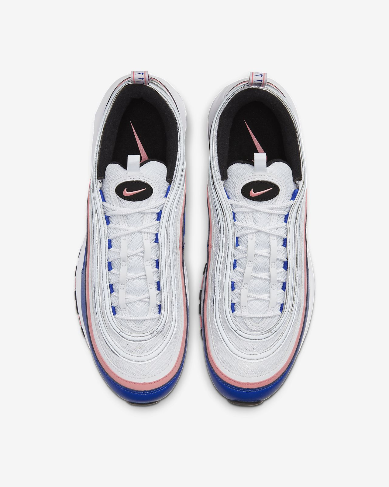 Nike Air Max 97 White Game Royal Pink 921826 107 Release