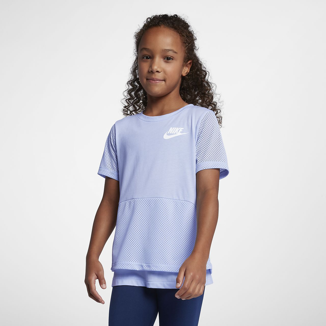 Nike Sportswear Big Kids' (Girls') Short Sleeve Top