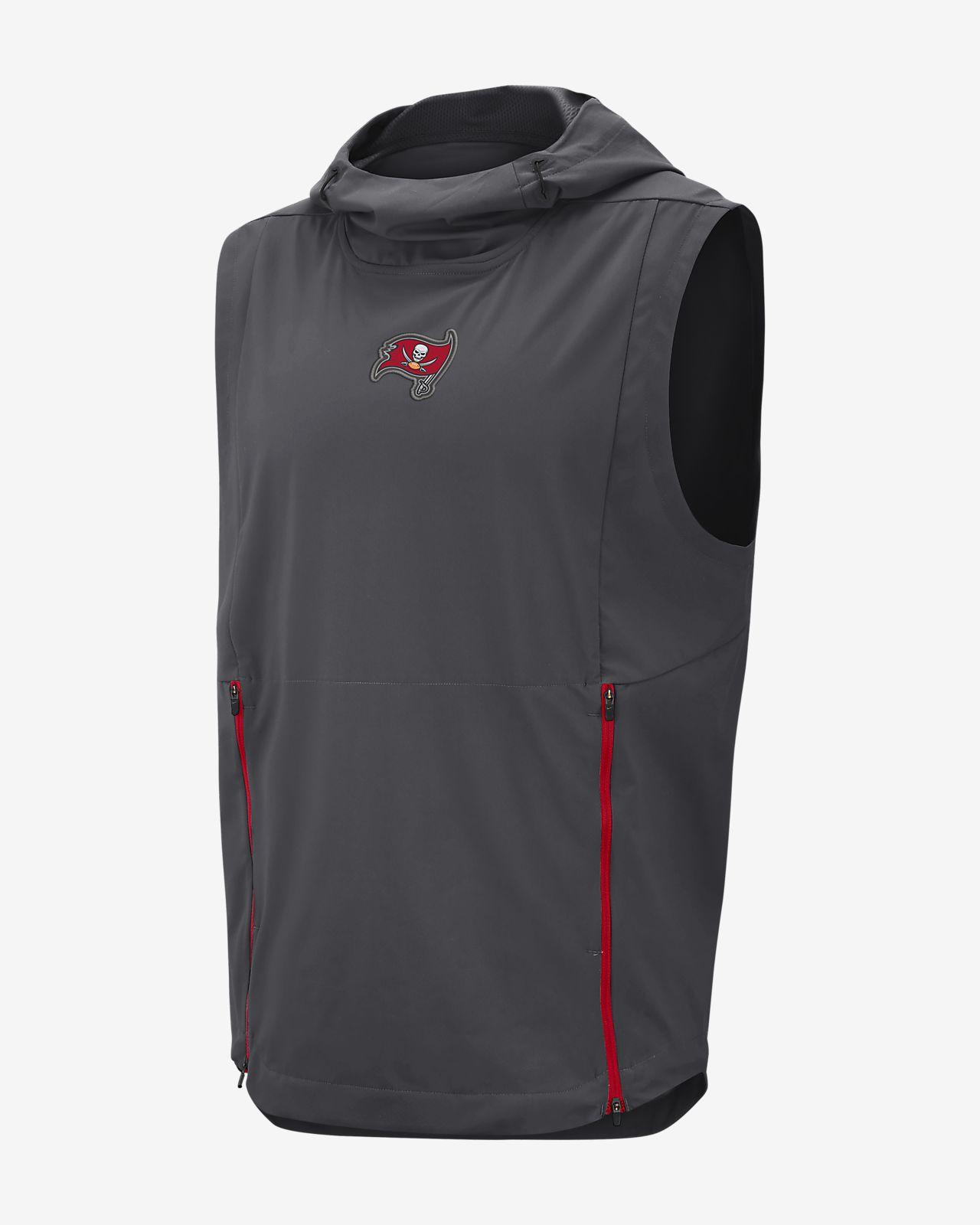 781e6493af32 Nike Shield Fly Rush (NFL Buccaneers) Men s Hooded Pullover Vest ...