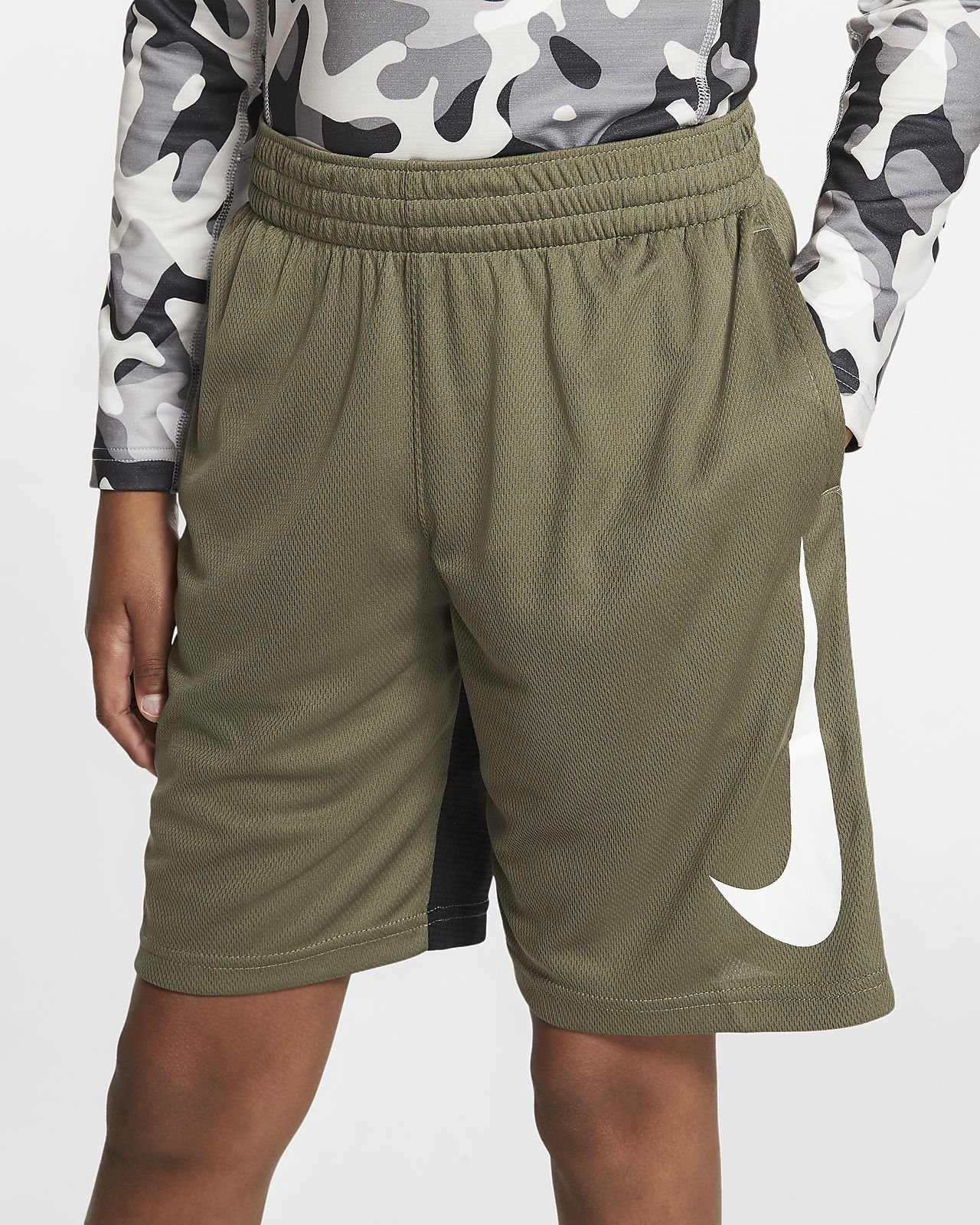 Shorts de básquetbol para niños talla grande Nike Dri-FIT
