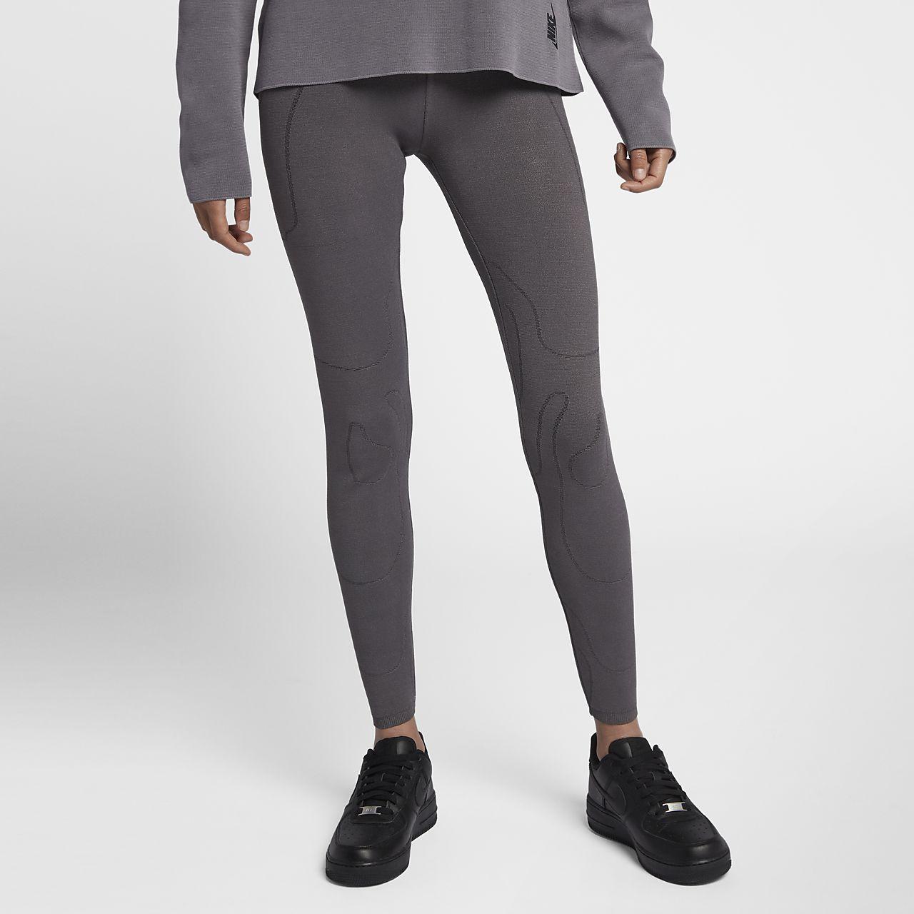 Stickade tights NikeLab Made in Italy för kvinnor