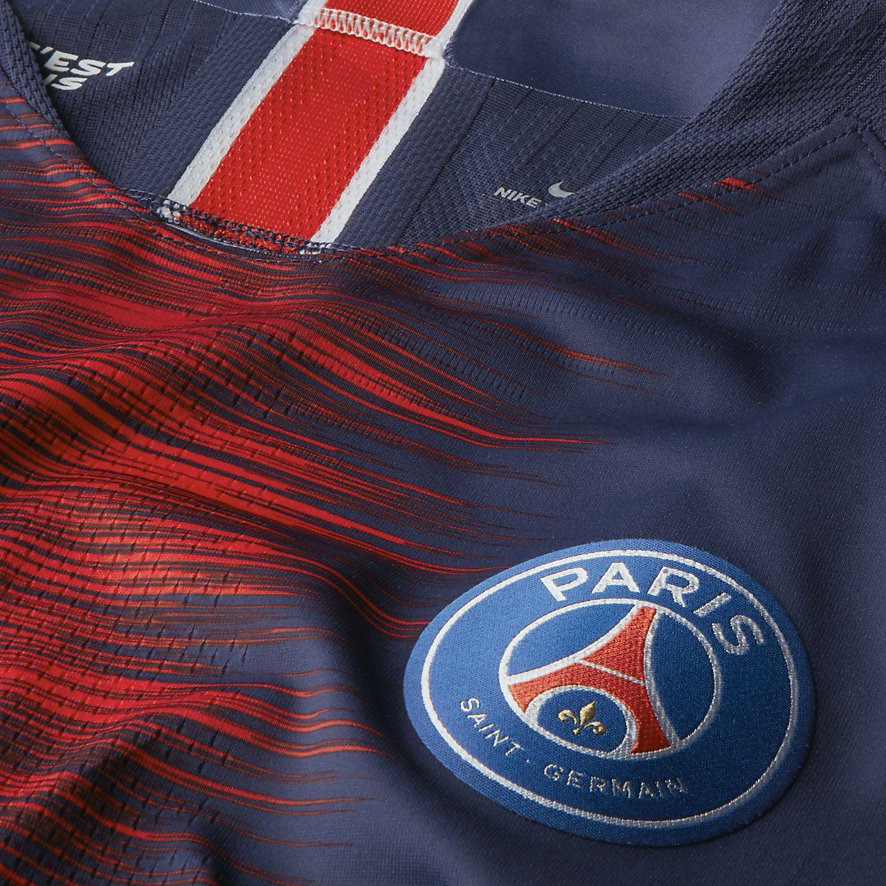 e001e1270b0 2018 19 Paris Saint-Germain Vapor Match Home Men s Football Shirt ...