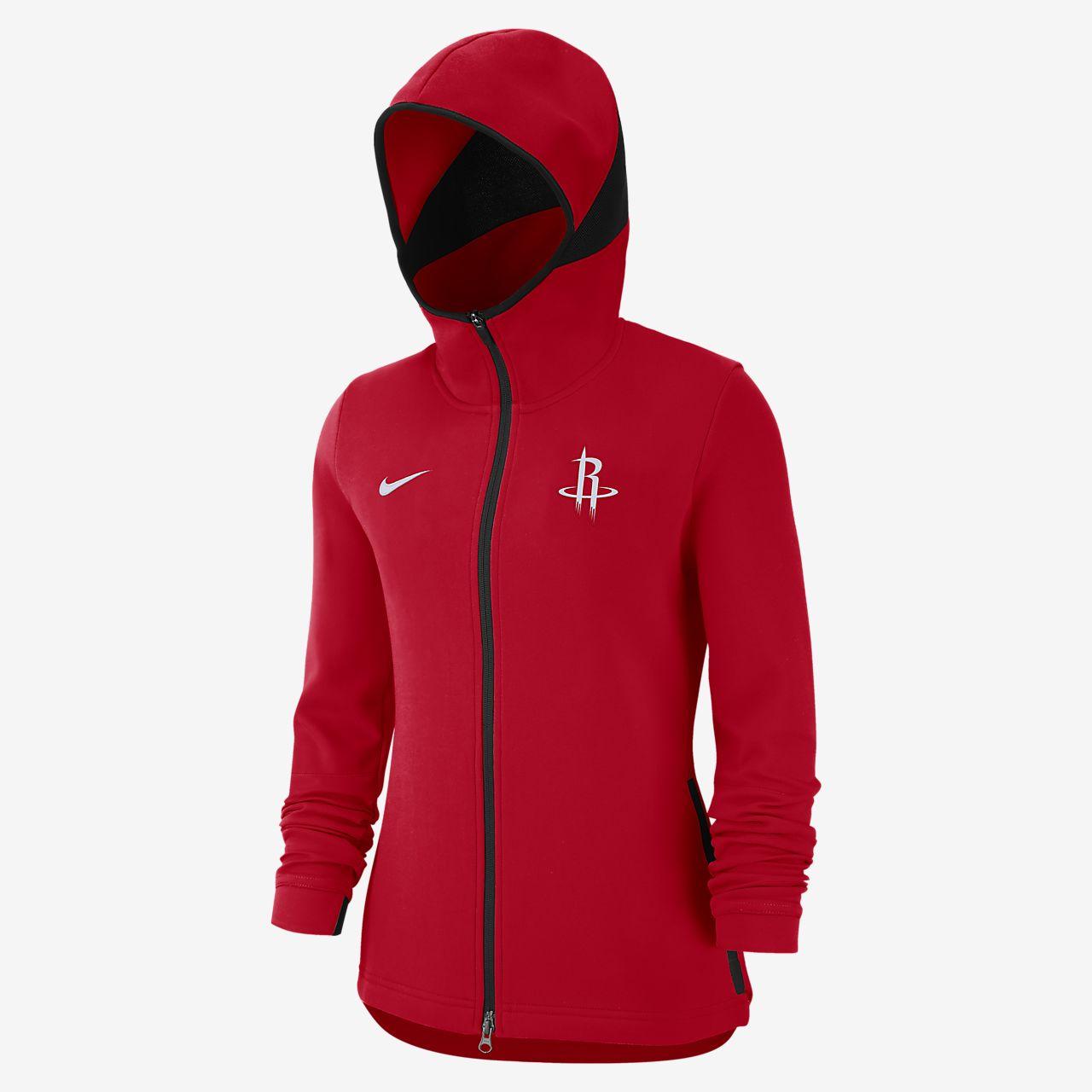 f18a740ea3d Houston Rockets Nike Dri-FIT Showtime Women's NBA Hoodie. Nike.com