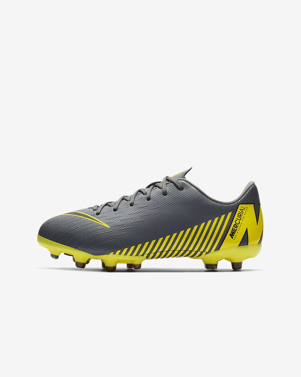 low priced dd0d9 bb739 ... Chaussure de football multi-terrains à crampons Nike Jr. Mercurial  Vapor XII Academy pour
