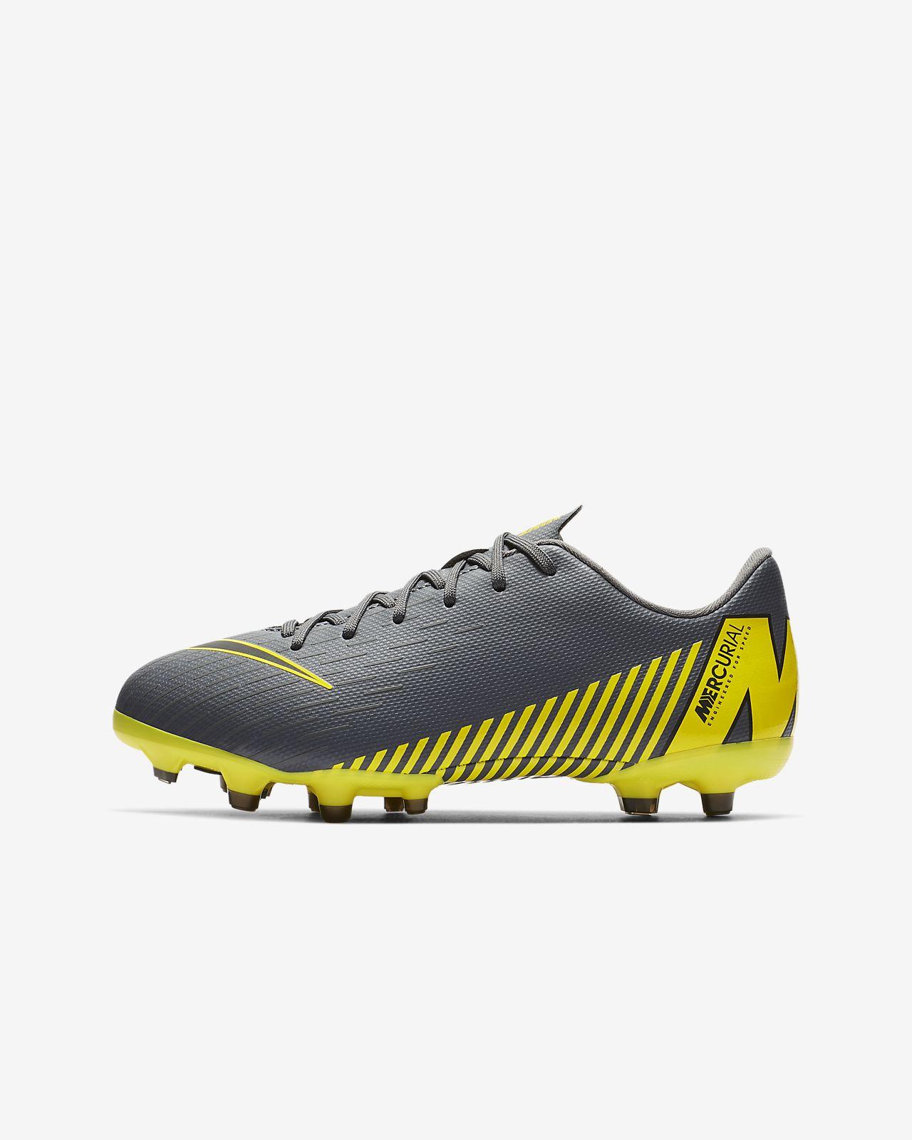 info for 1004e 192dc ... Nike Jr. Mercurial Vapor XII Academy Fußballschuh für verschiedene  Böden für jüngere ältere Kinder