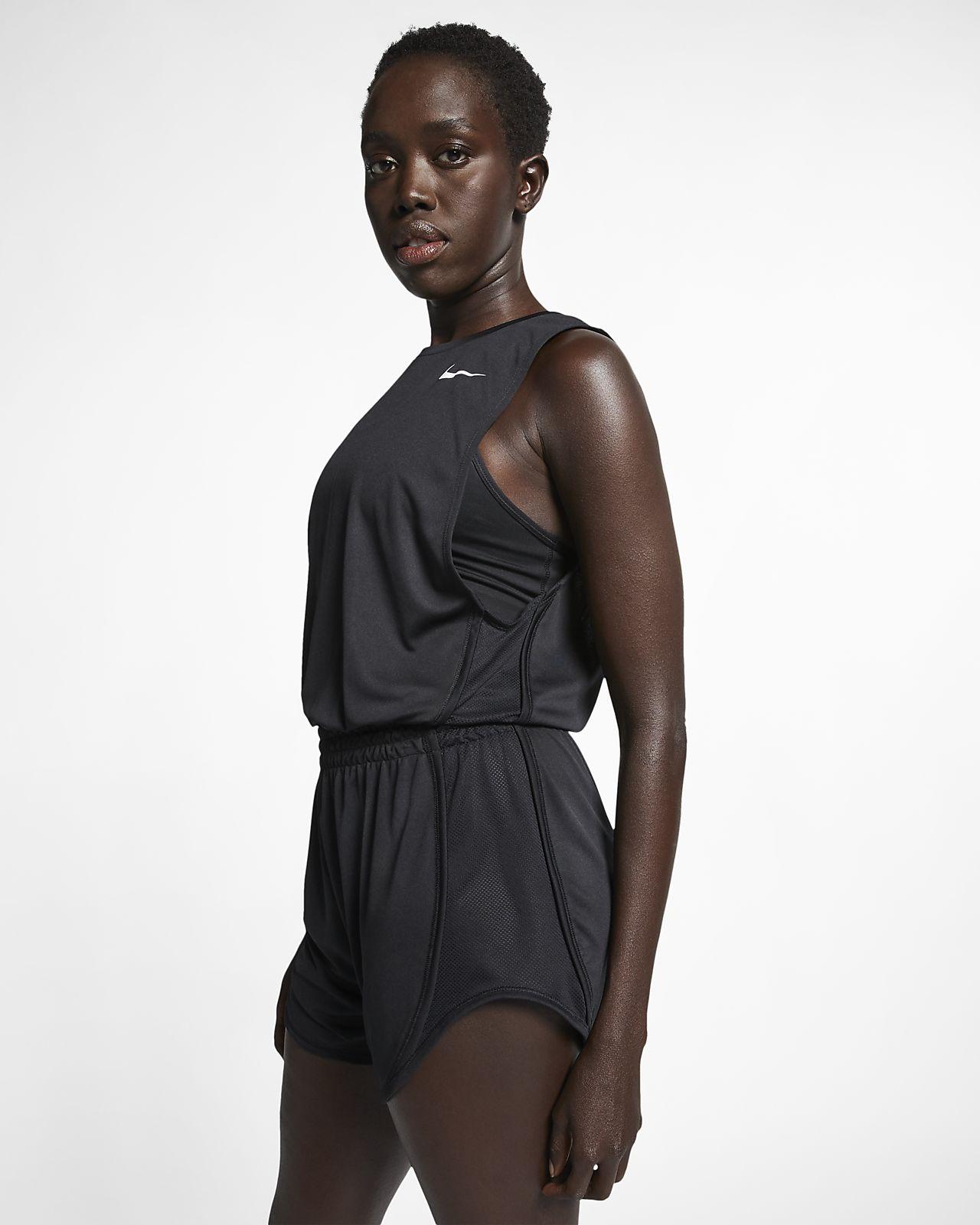 Nike Dri-FIT Kısa Kadın Koşu Tulumu