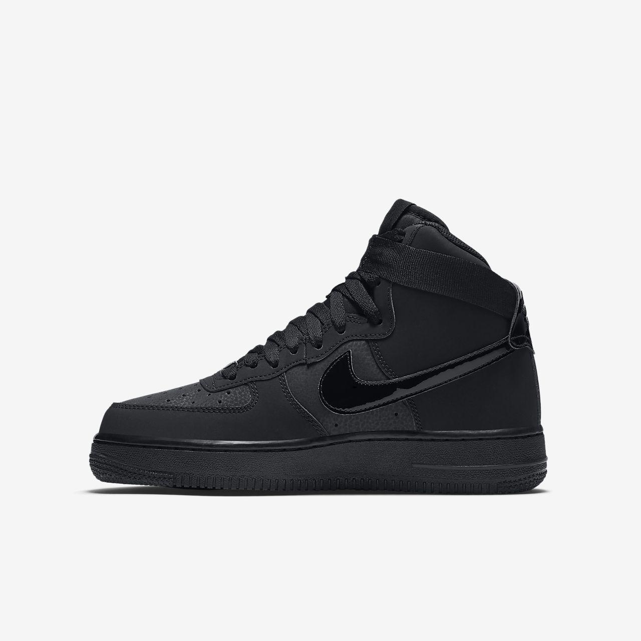 Nike Air Force 1 High (GS) Big Kids Basketball Shoes
