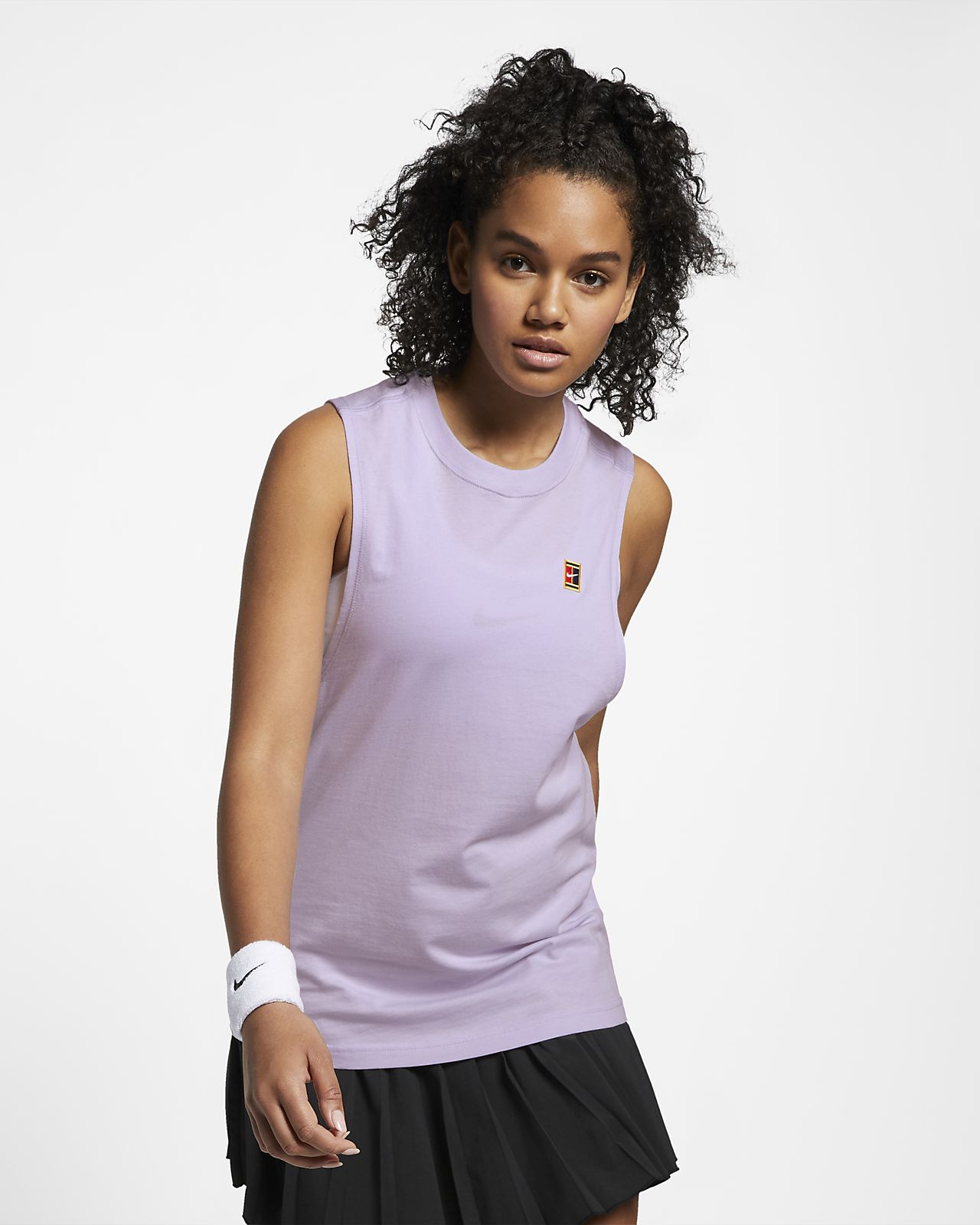 NikeCourt Camiseta de tirantes de tenis - Mujer