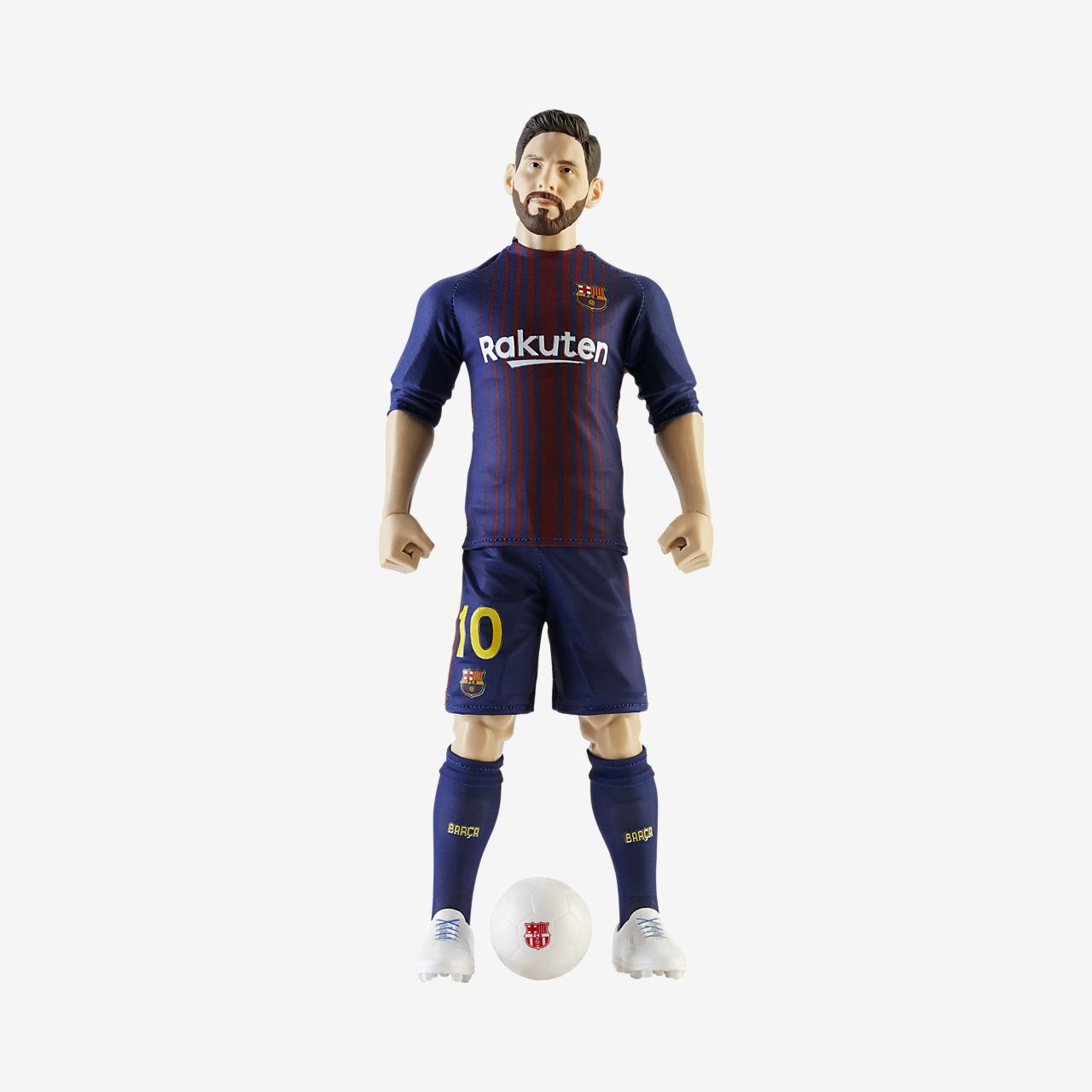 low priced e7d0c c388c FC Barcelona Messi Action Figure Collectible