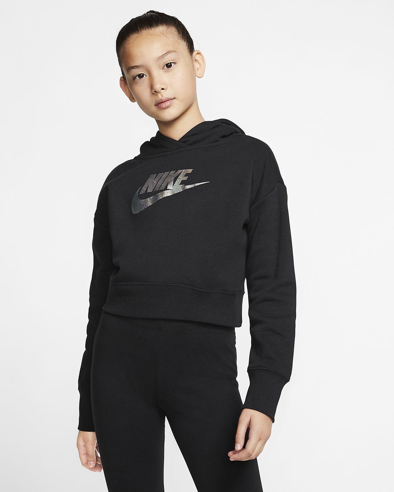 Nike Sportswear Sudadera con capucha corta - Niña