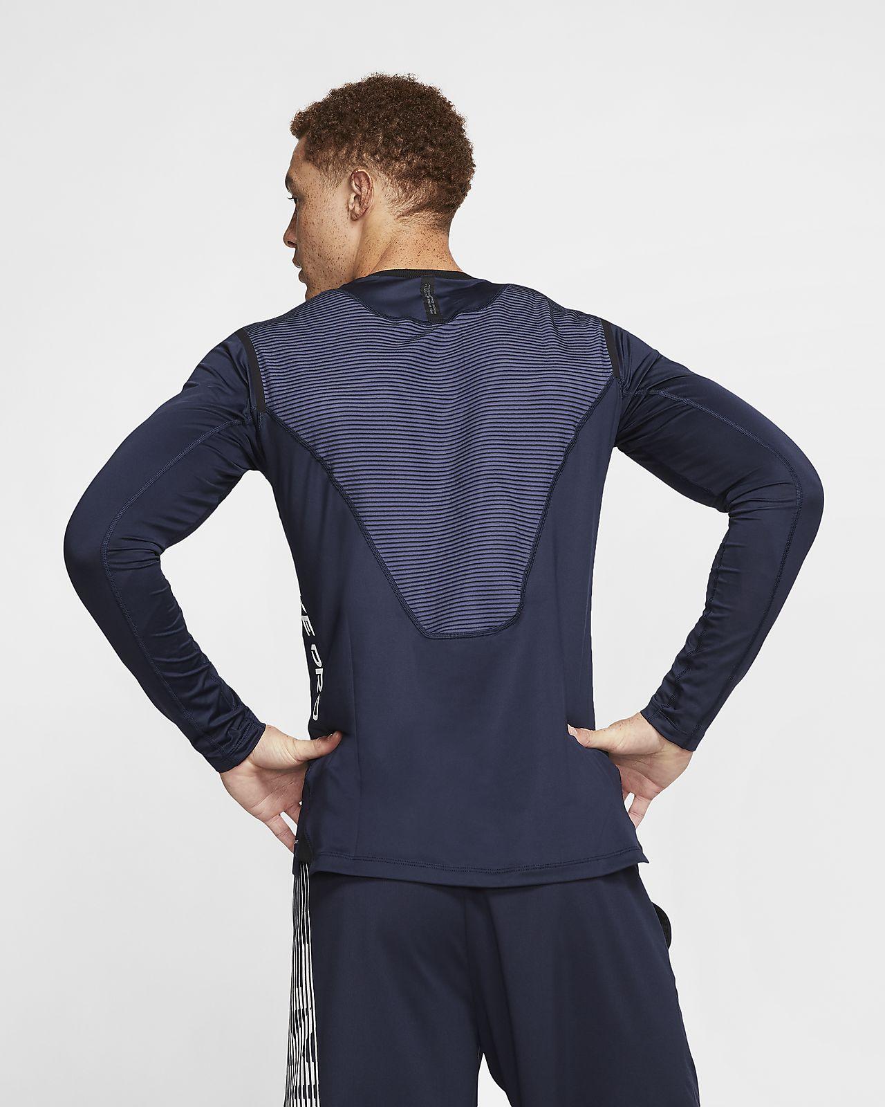 Nike Pro AeroAdapt Langarm-Oberteil für Damen