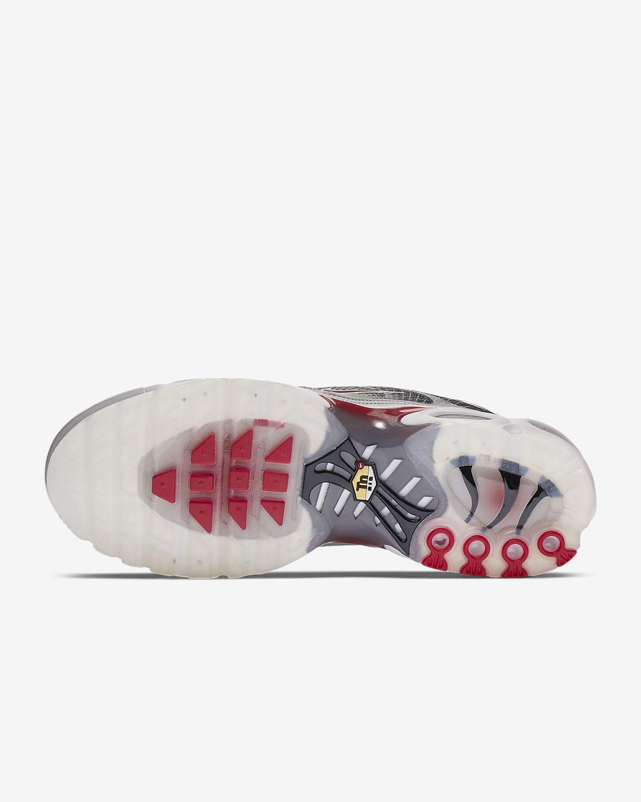 BUY Nike Air Max Plus Neutral Grey Varsity Red | Kixify