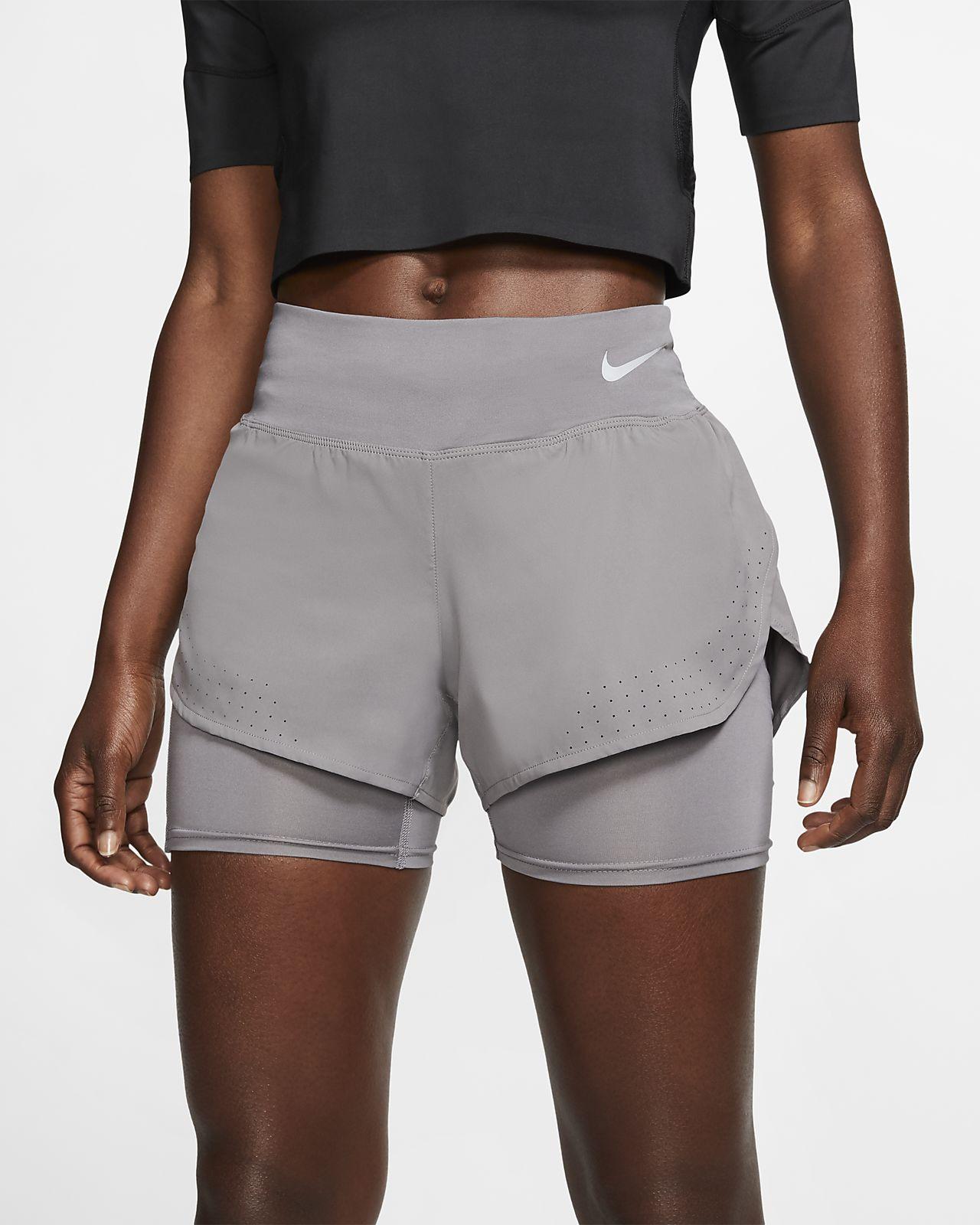 Damskie spodenki do biegania 2 w 1 Nike Eclipse