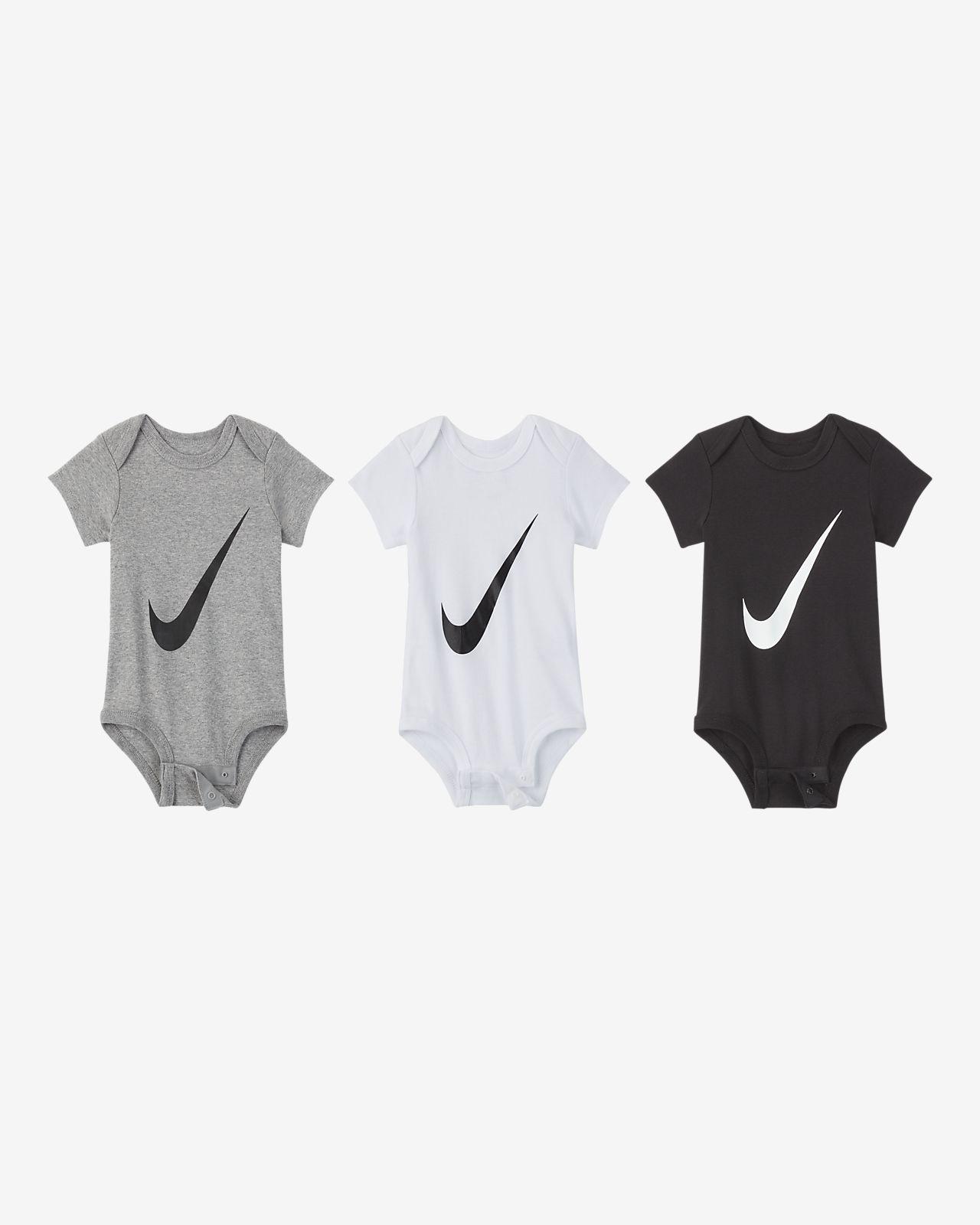 Nike Bodysuit für Kleinkinder (3er-Pack)