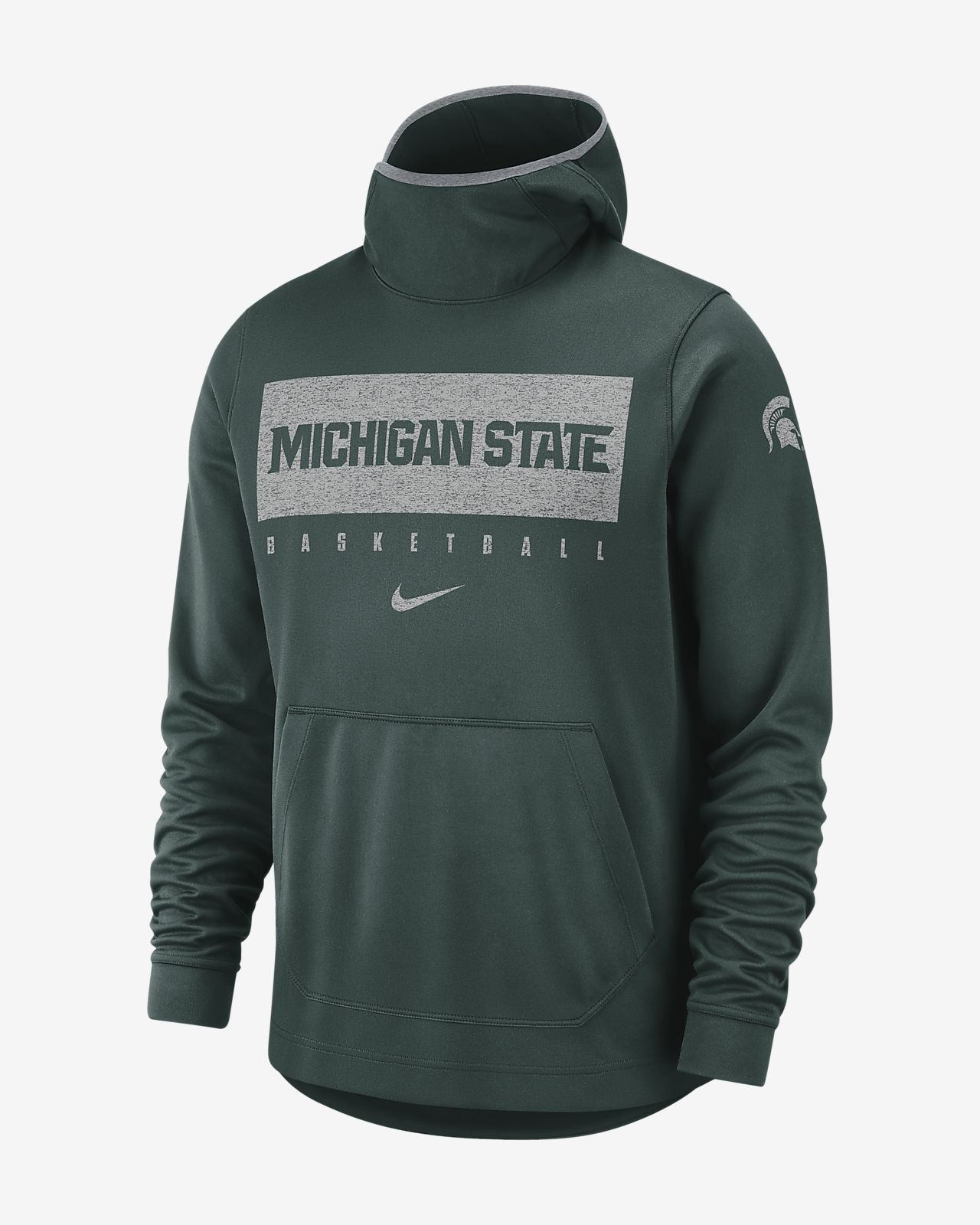 Nike College Spotlight (Michigan State) Men's Pullover Hoodie