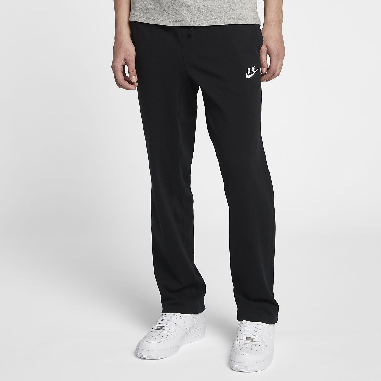 pantalon en maille coupe standard nike sportswear pour homme fr. Black Bedroom Furniture Sets. Home Design Ideas