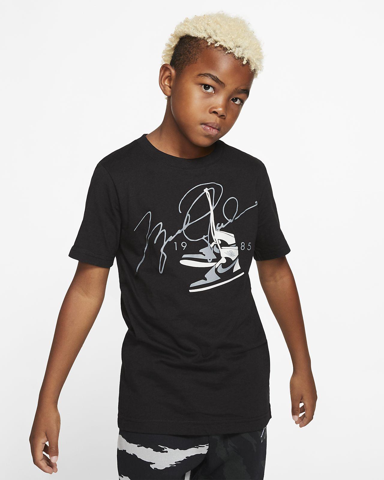 T-shirt de manga curta Jordan Júnior (Rapaz)