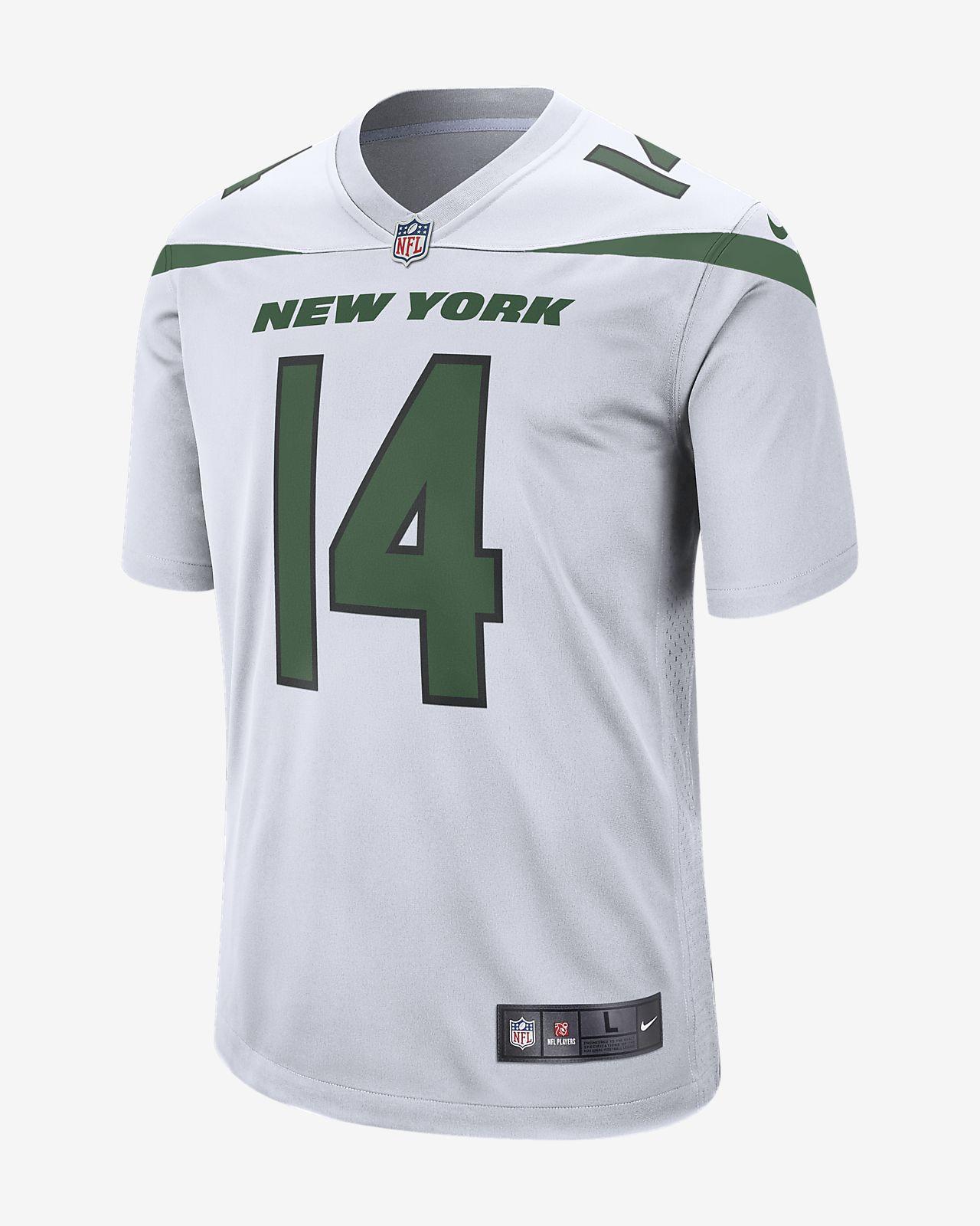 b8816f00f46 NFL New York Jets (Sam Darnold) Men's Game Football Jersey. Nike.com