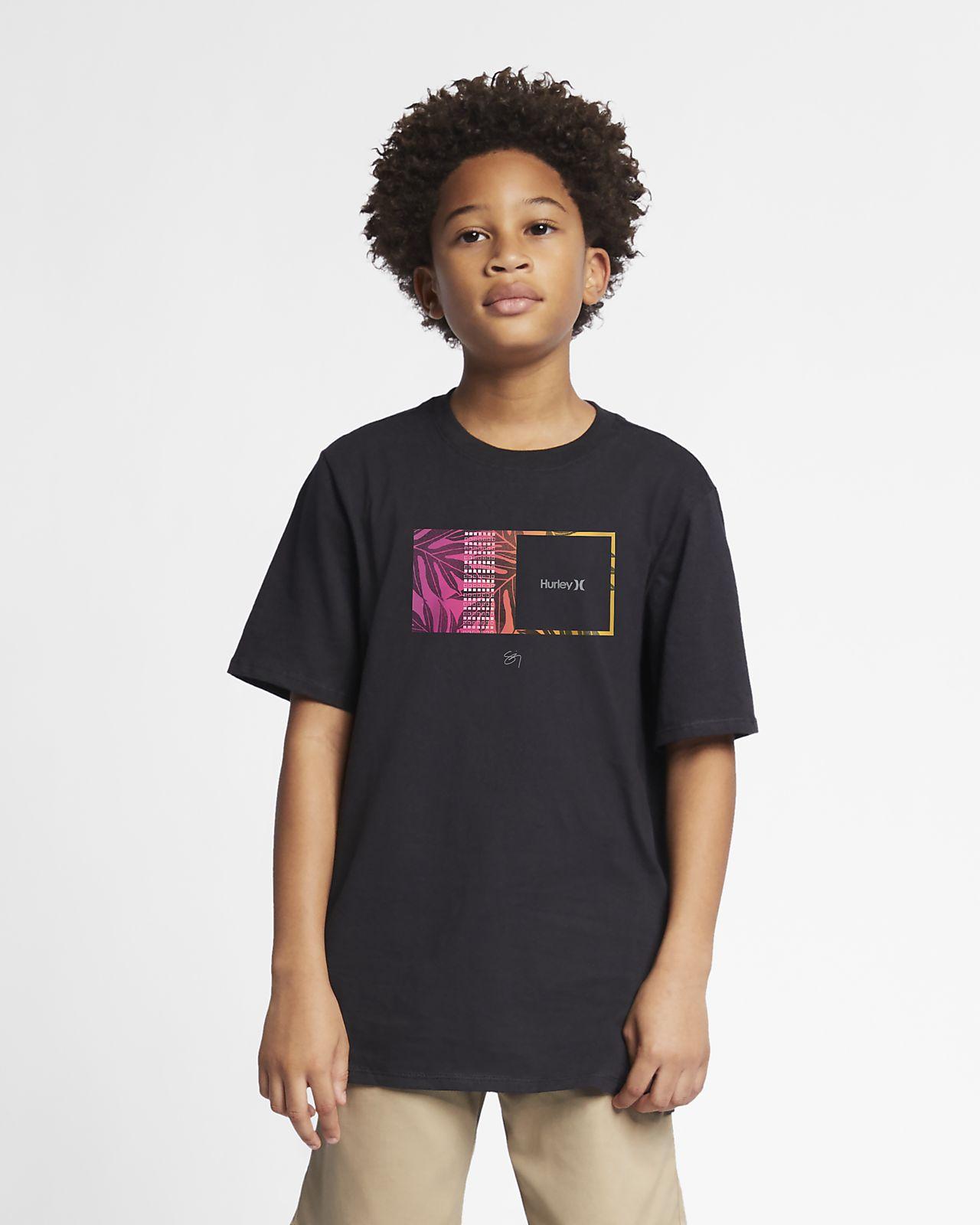 Hurley Premium Sig Zane Moorea Boys' T-Shirt