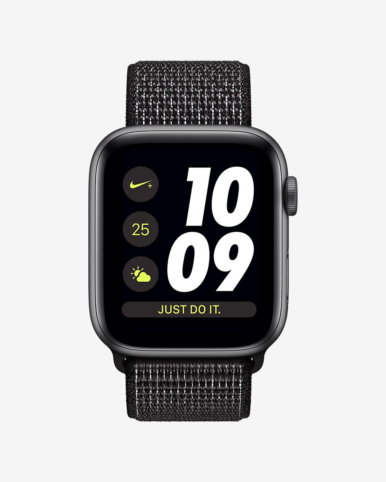 0038f797b2 ... Apple Watch Nike+ Series 4 (GPS) with Nike Sport Loop 44mm Sport Watch