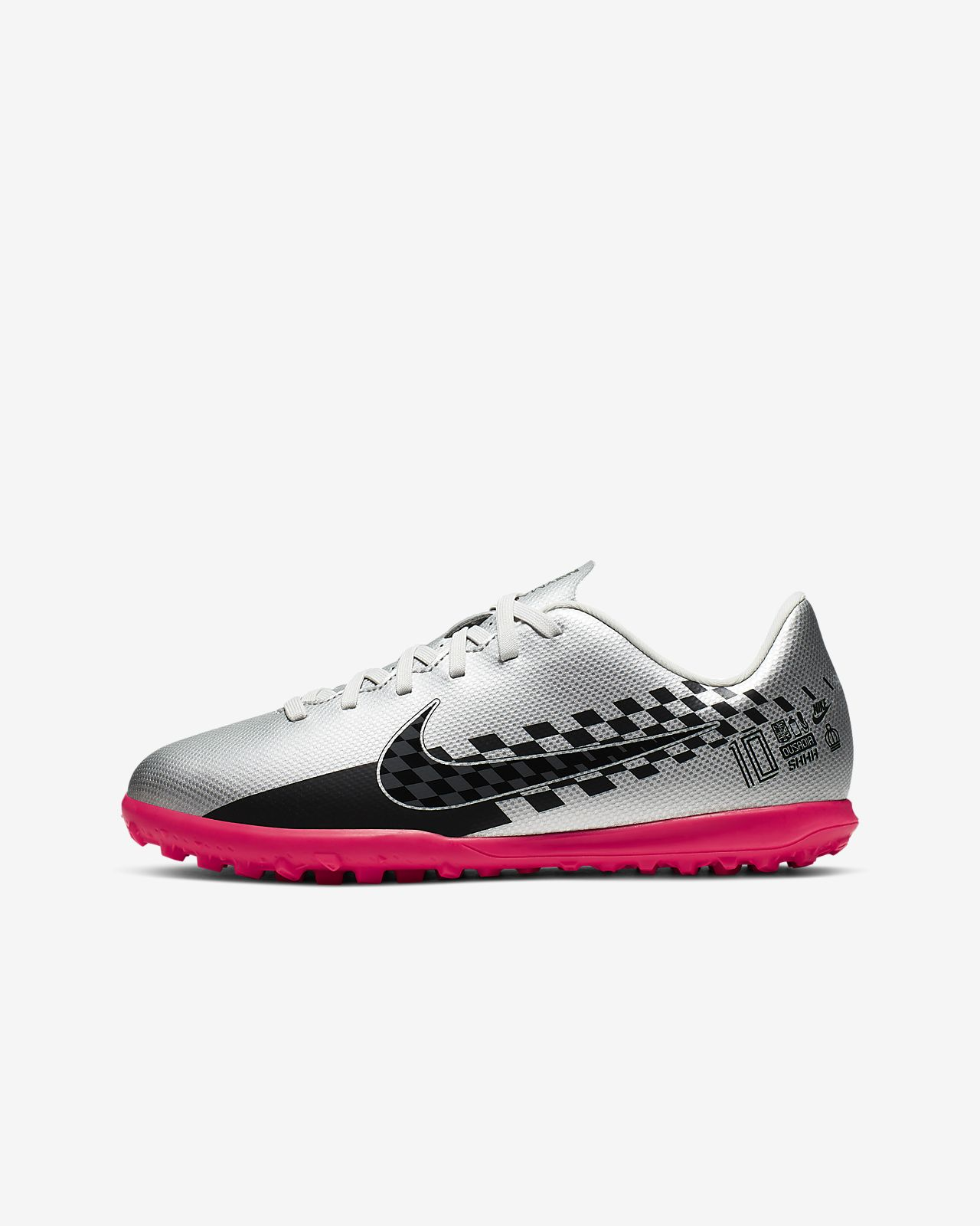 Nike Jr. Mercurial Vapor 13 Club Neymar Jr. TF Kids' Artificial-Turf Football Shoe