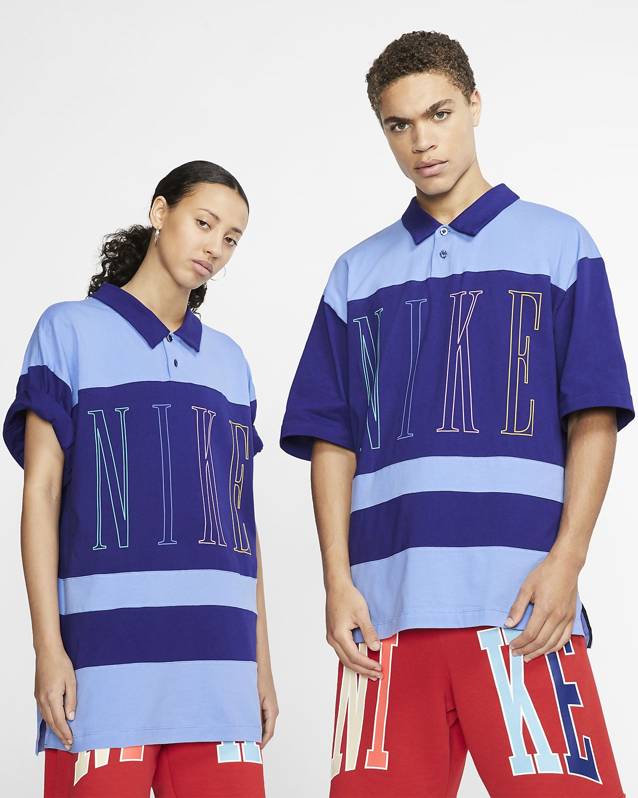 Nike男子翻领T恤