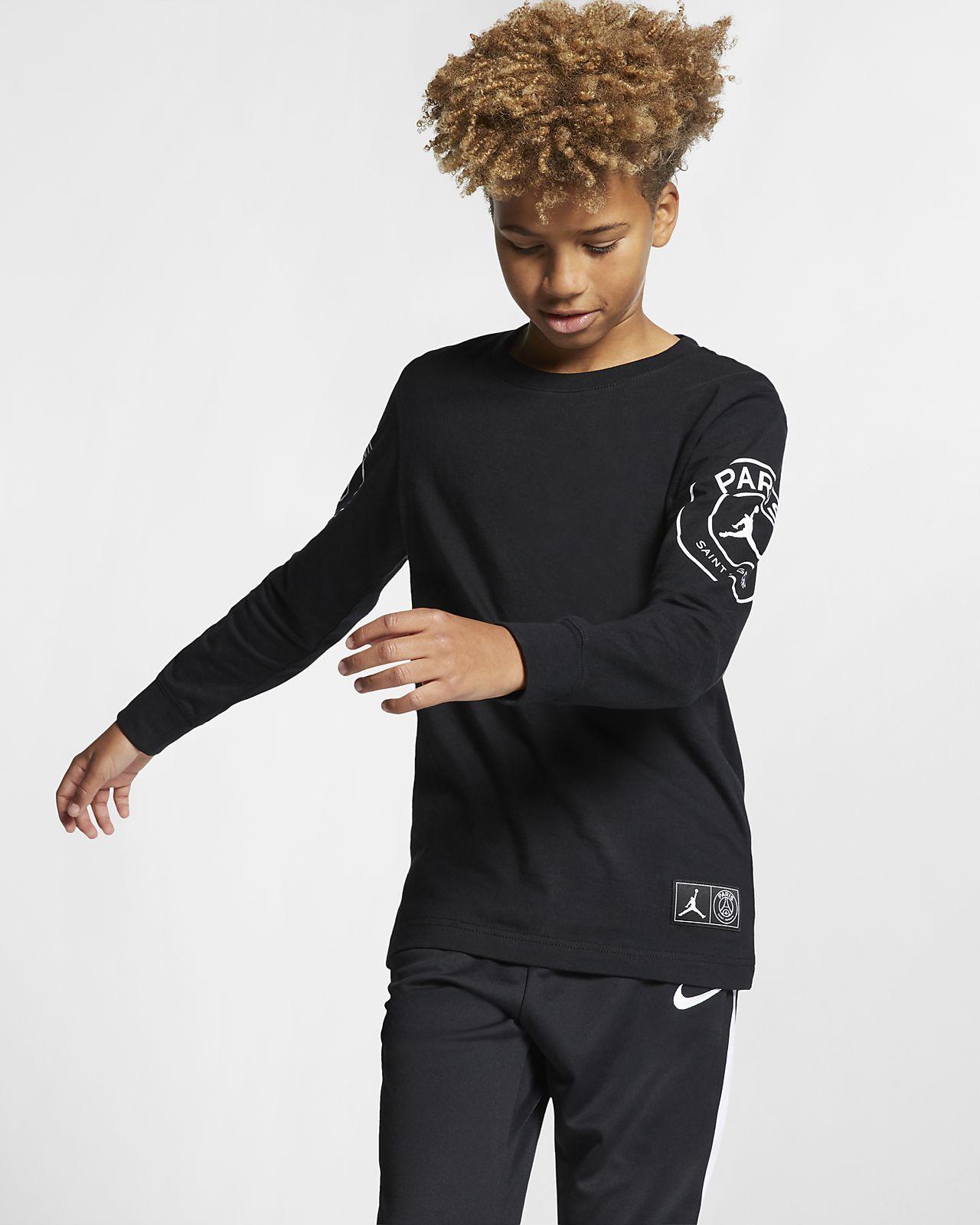 PSG hosszú ujjú póló nagyobb gyerekeknek (fiúk)