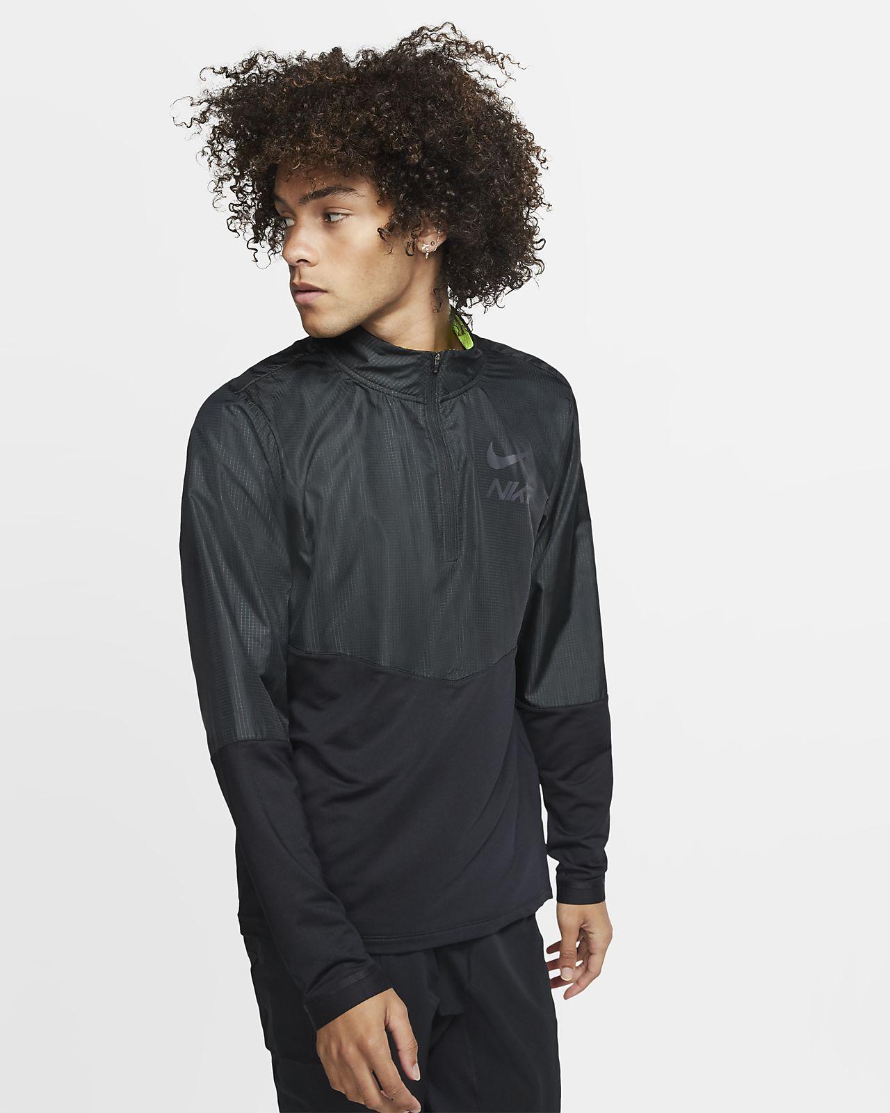 Haut de running à demi-zip Nike pour Homme