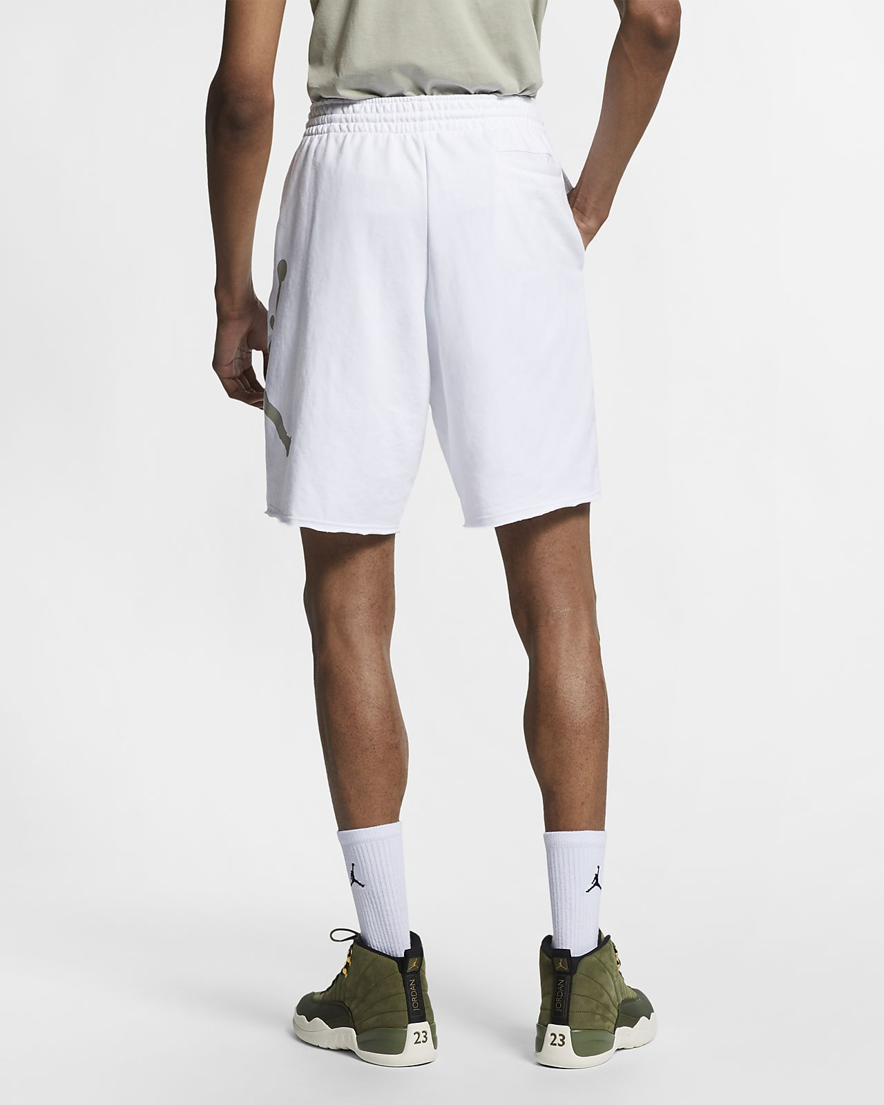 2c1b226cefa Jordan Jumpman Logo Men's Fleece Shorts. Nike.com
