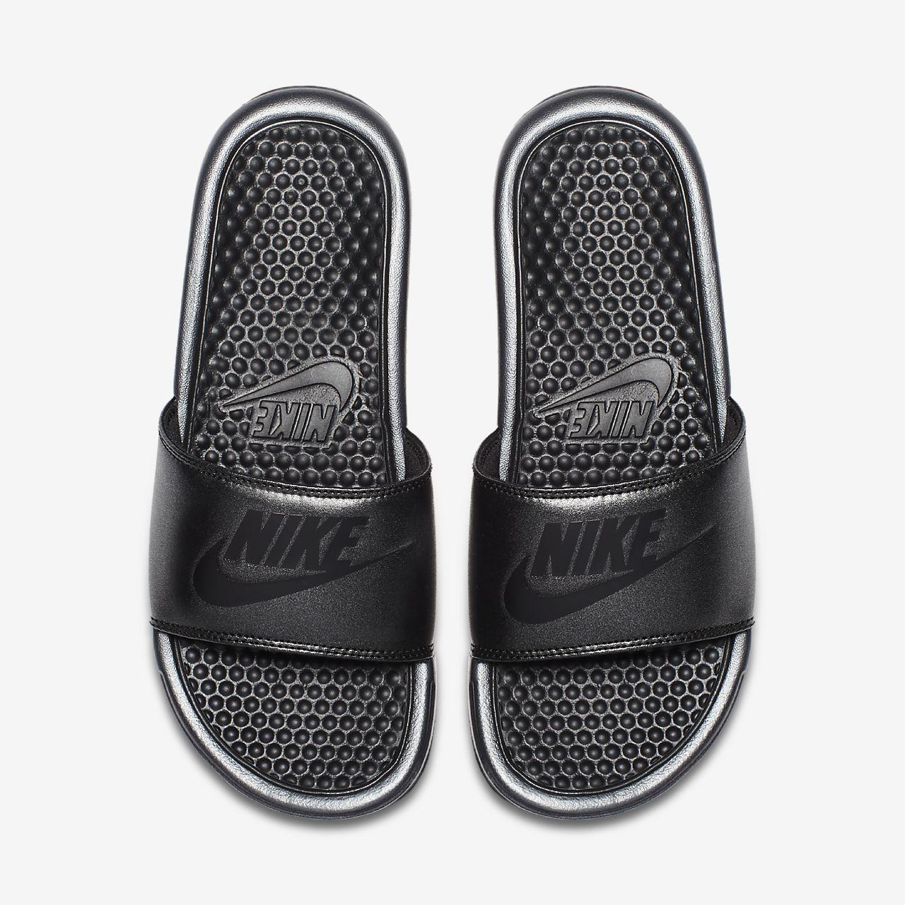 sale retailer 4fecf dc3c7 ... Nike Benassi Metallic QS Women s Slide