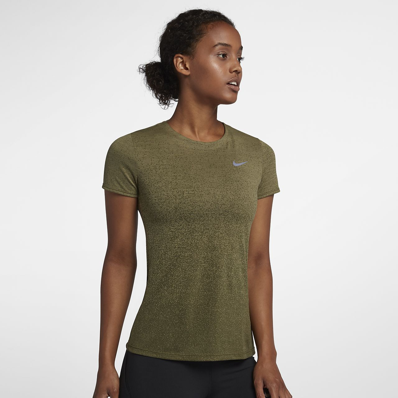 Nike Medalist  Women's Short-Sleeve Running Top