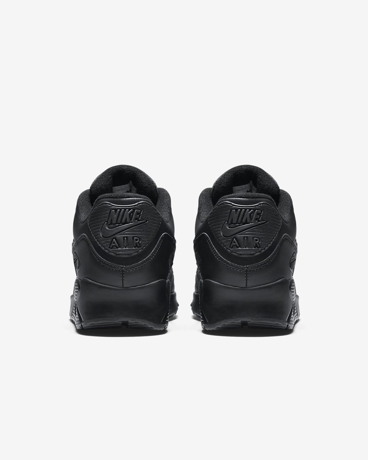 nike air max 90 leather black review