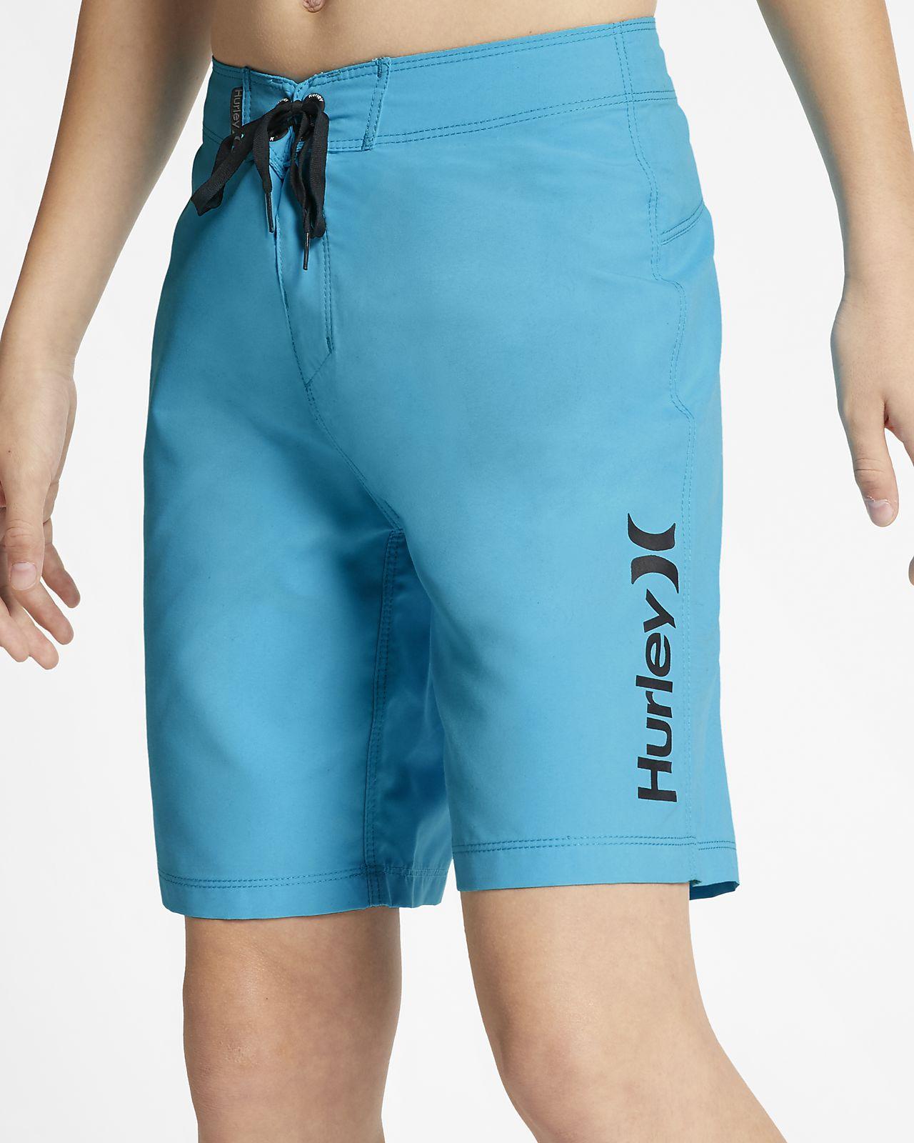 Shorts de playa de 41 cm para niño Hurley One And Only Supersuede