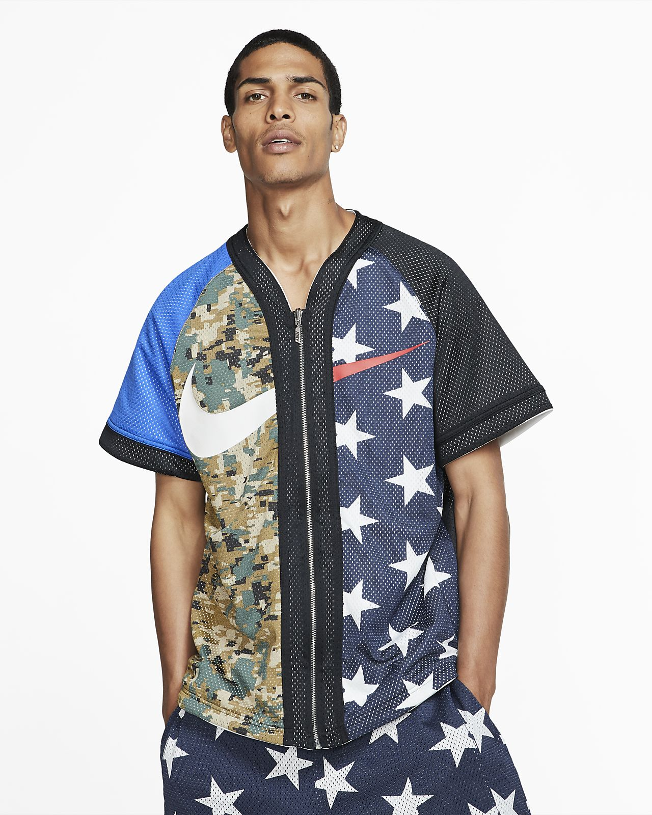 Męska koszulka do baseballu NikeLab Collection