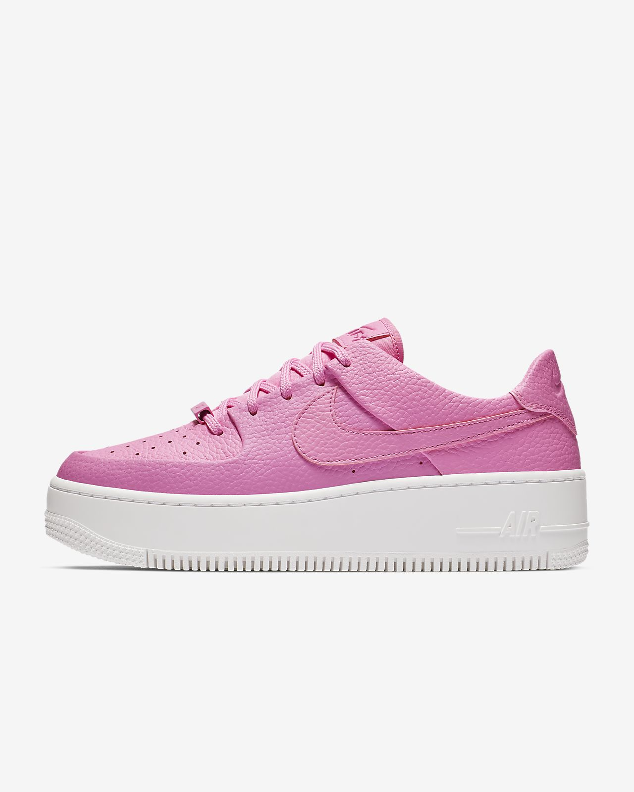 nike air force 1 wit roze