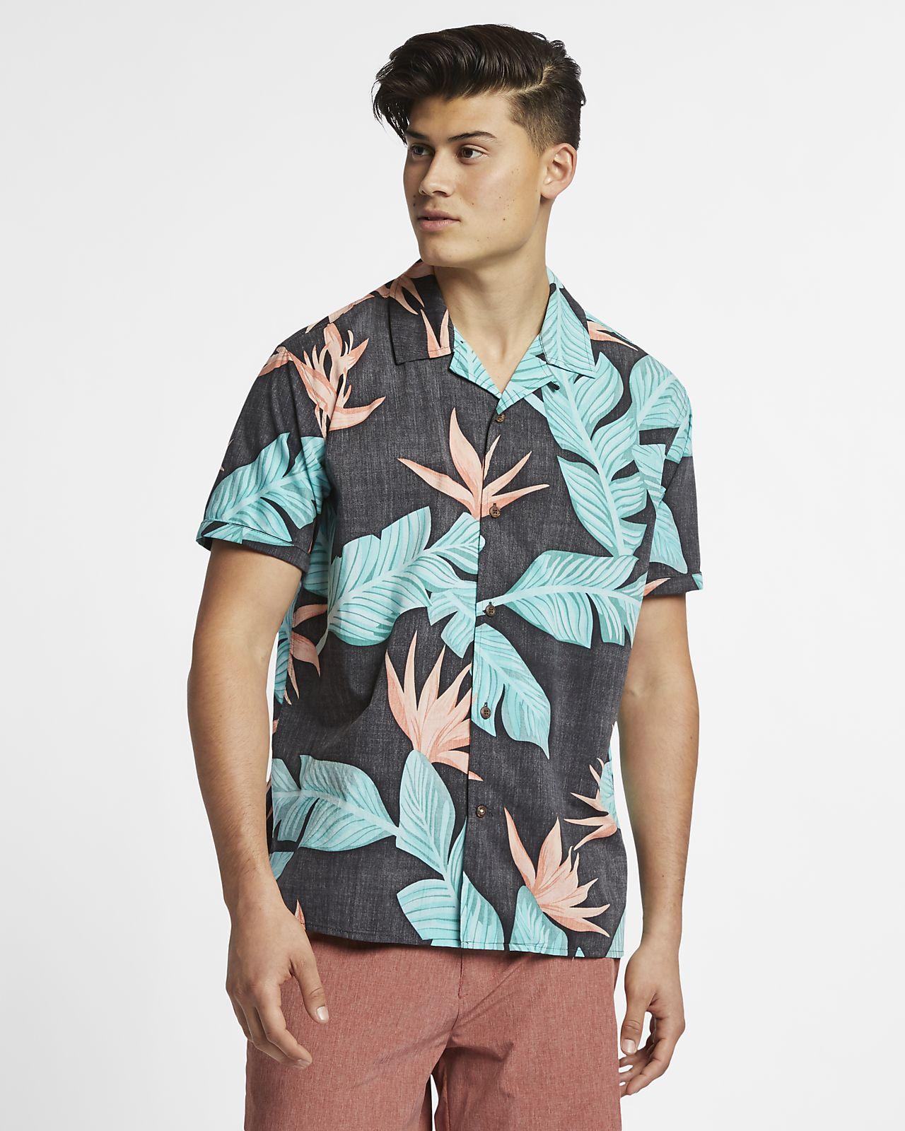 Camisa de manga corta para hombre Hurley Hanoi