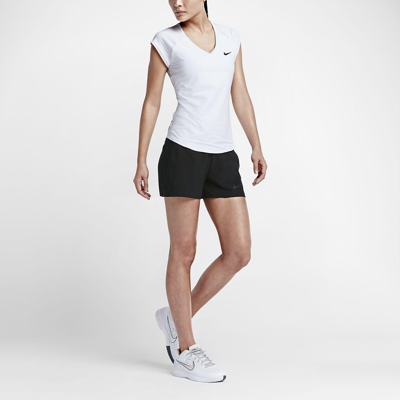 Женская теннисная футболка NikeCourt Pure
