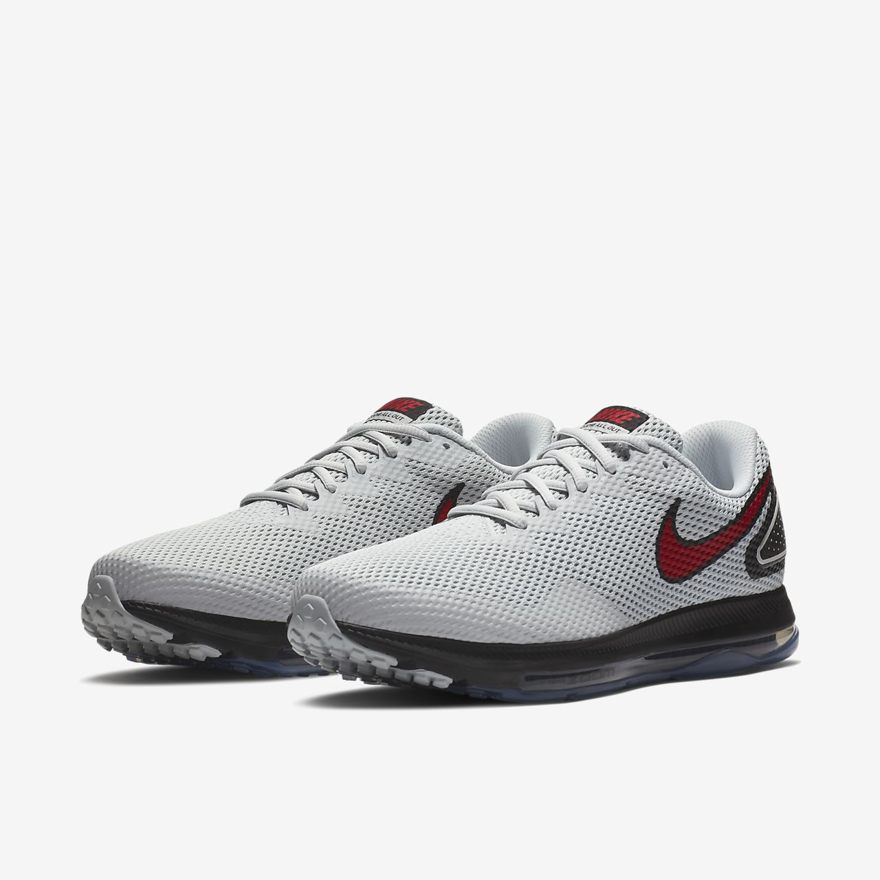 Nike Performance ZOOM ALL OUT LOW  Neutral running shoes  dark team redblackuniversity red   RLKWqeEp