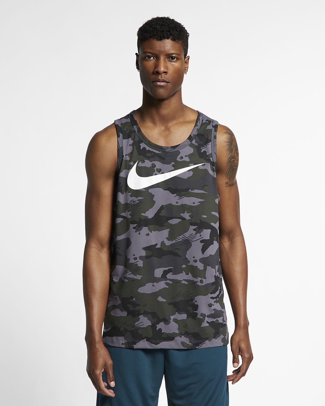 low priced cd7dc 0e5bf Men s Camo Training Tank. Nike Dri-FIT