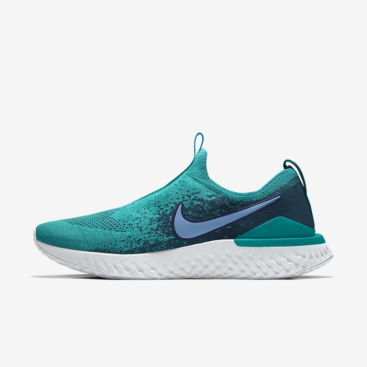Chaussure de running personnalisable Nike Epic Phantom React Flyknit By You pour Femme