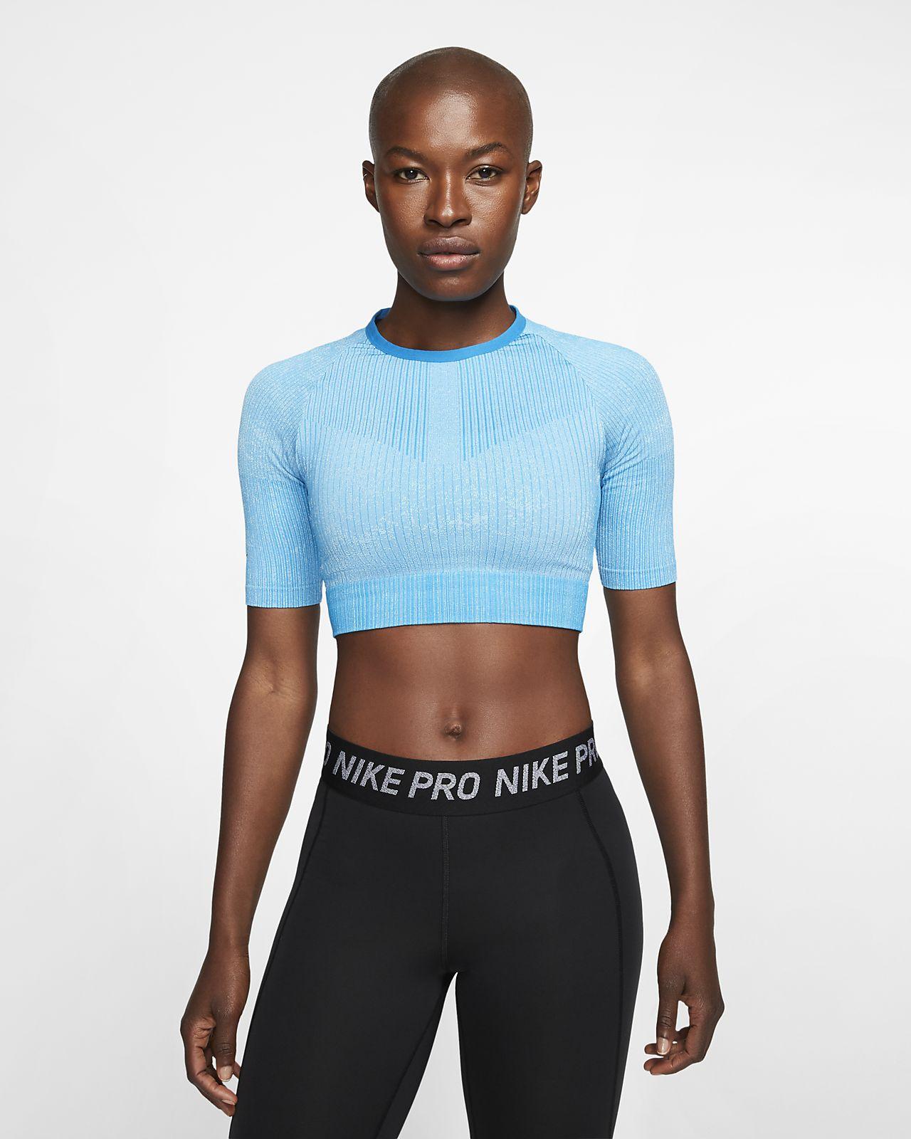 Prenda para la parte superior de entrenamiento tejida para mujer Nike City Ready