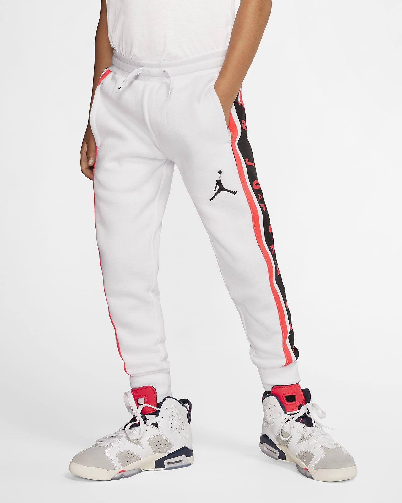 Pantaloni jogger con profilo in blocchi di colore Air Jordan - Bambini