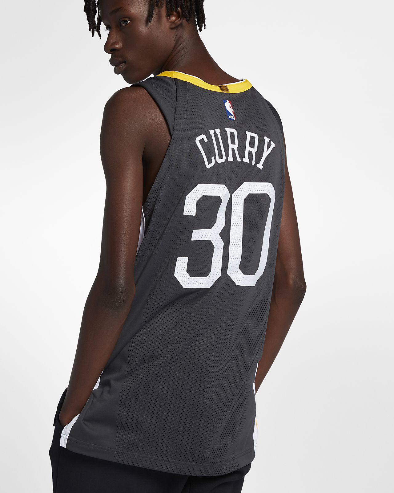 newest 670ae ebe06 Stephen Curry Statement Edition Authentic (Golden State Warriors) Men's  Nike NBA Connected Jersey