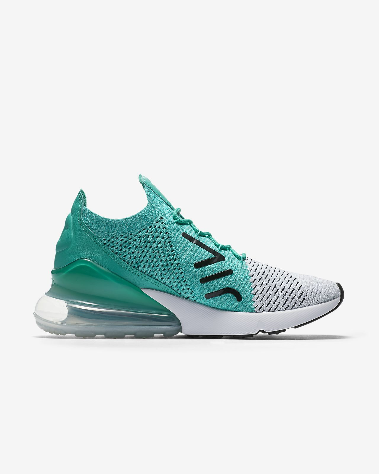 the latest edcfd 4354f ... Nike Air Max 270 Flyknit Womens Shoe