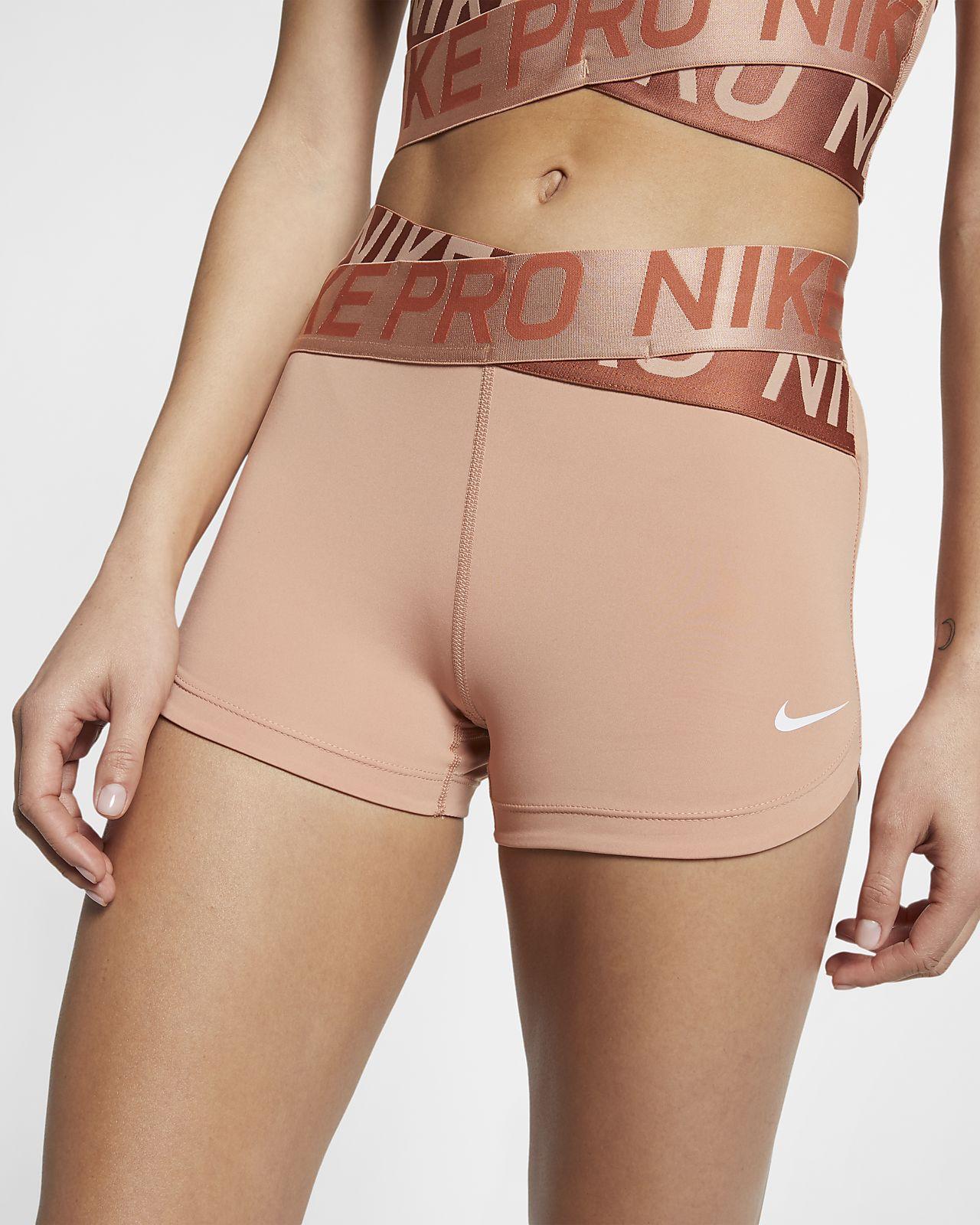 Shorts de 8 cm para mujer Nike Pro Intertwist